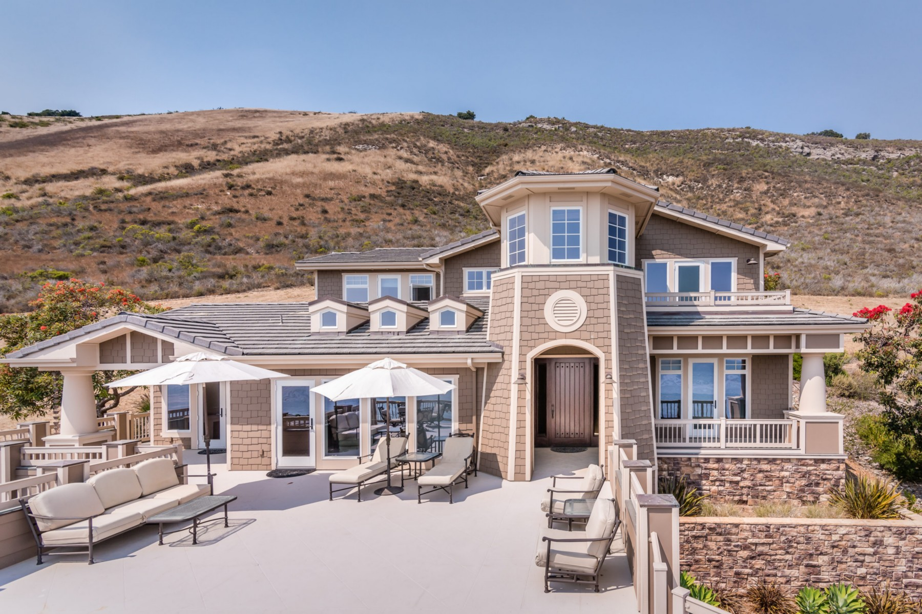 Single Family Home for Sale at Lavish Oceanfront Estate 122 Bluff Dr. Pismo Beach, California, 93420 United States