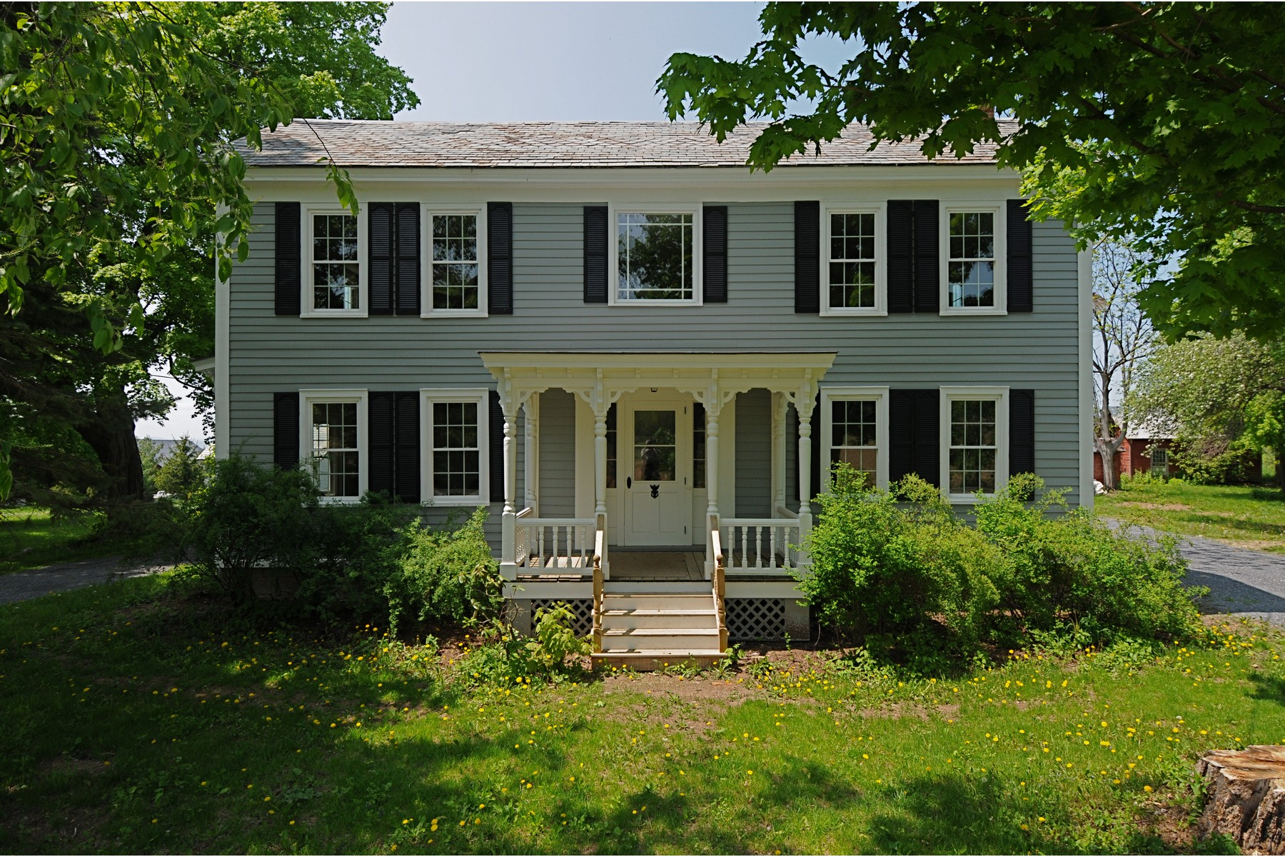 Single Family Home for Sale at Renovated Historic Farmhouse in Vermont 2346 Greenbush Rd Charlotte, Vermont 05445 United States