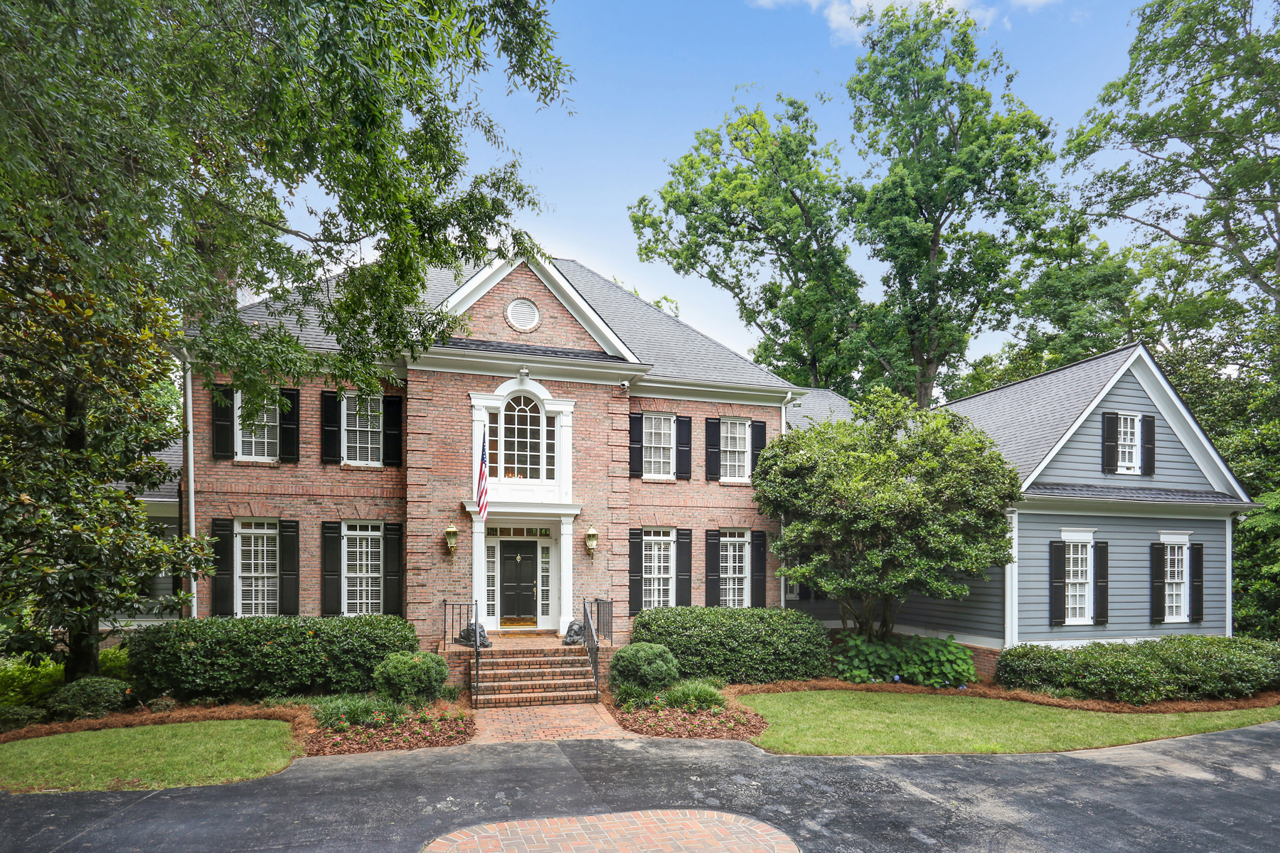 Single Family Home for Sale at Quiet Cul-de-sac In Tuxedo Park 89 Blackland Court NW Atlanta, Georgia 30342 United States