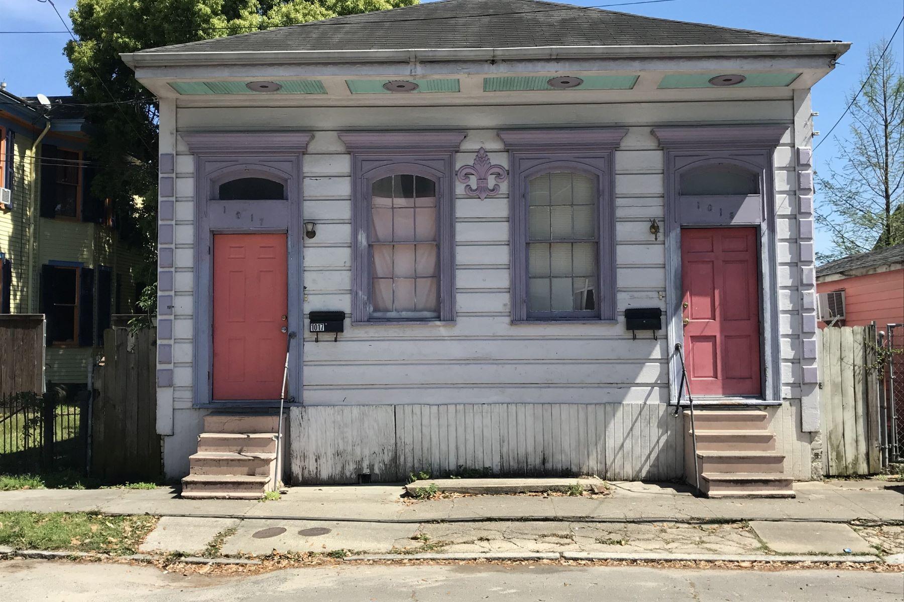 Multi-Family Home for Sale at 1015-17 Alvar Street, New Orleans 1015-17 Alvar St New Orleans, Louisiana 70117 United States