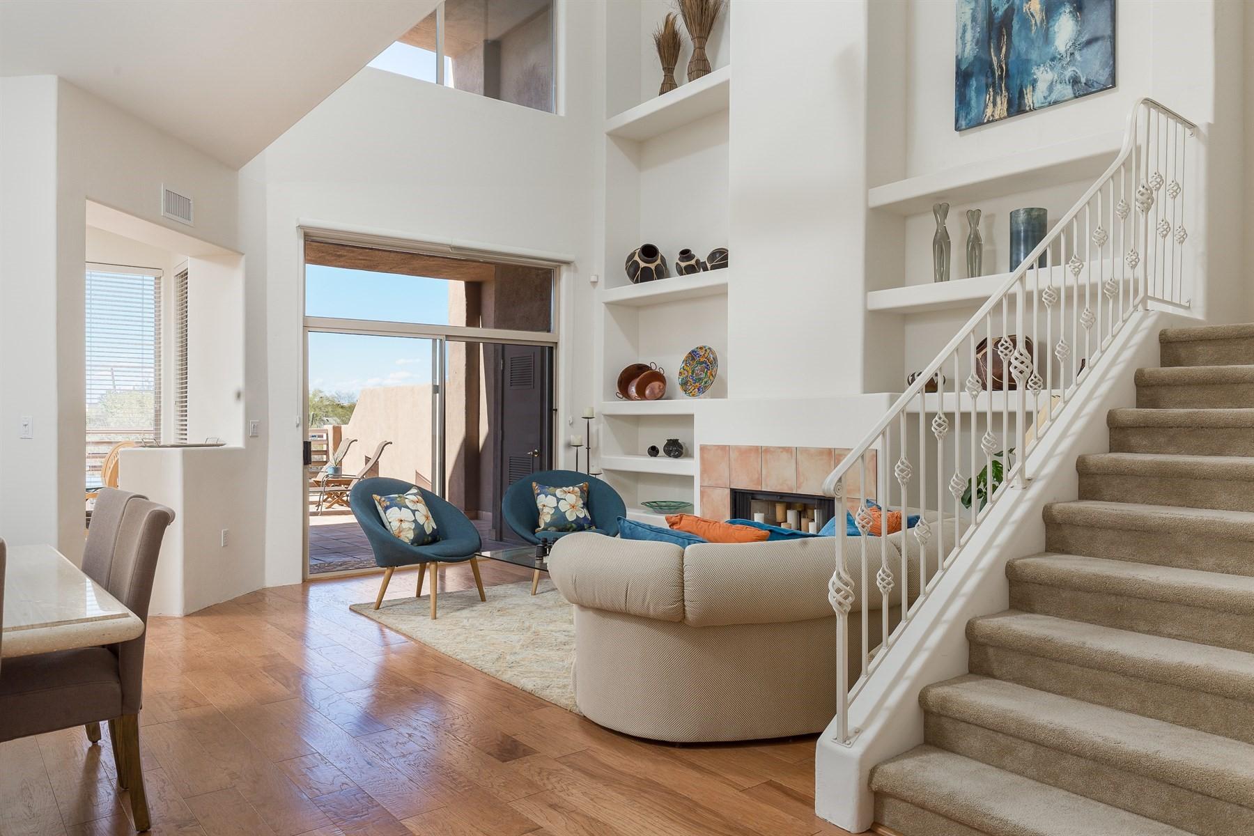 联栋屋 为 销售 在 Golf Villas at Troon North Condominium 10222 E Southwind Ln #1035, 斯科茨代尔, 亚利桑那州, 85262 美国