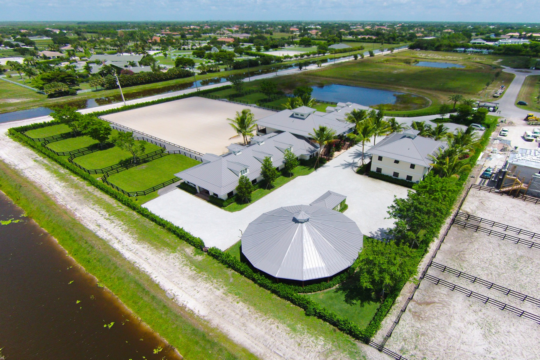 Farm / Ranch / Plantation للـ Rent في 14942 Grand Prix Village Drive 14942 Grand Prix Village Drive Wellington, Florida 33414 United States