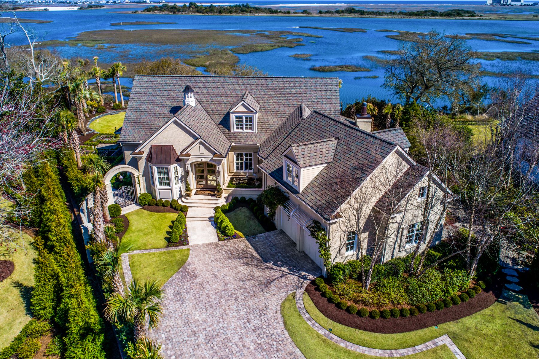 Single Family Home for Sale at Elegance and Comfort with Endless Oceanviews 2352 Ocean Point Dr Wilmington, North Carolina 28405 United States