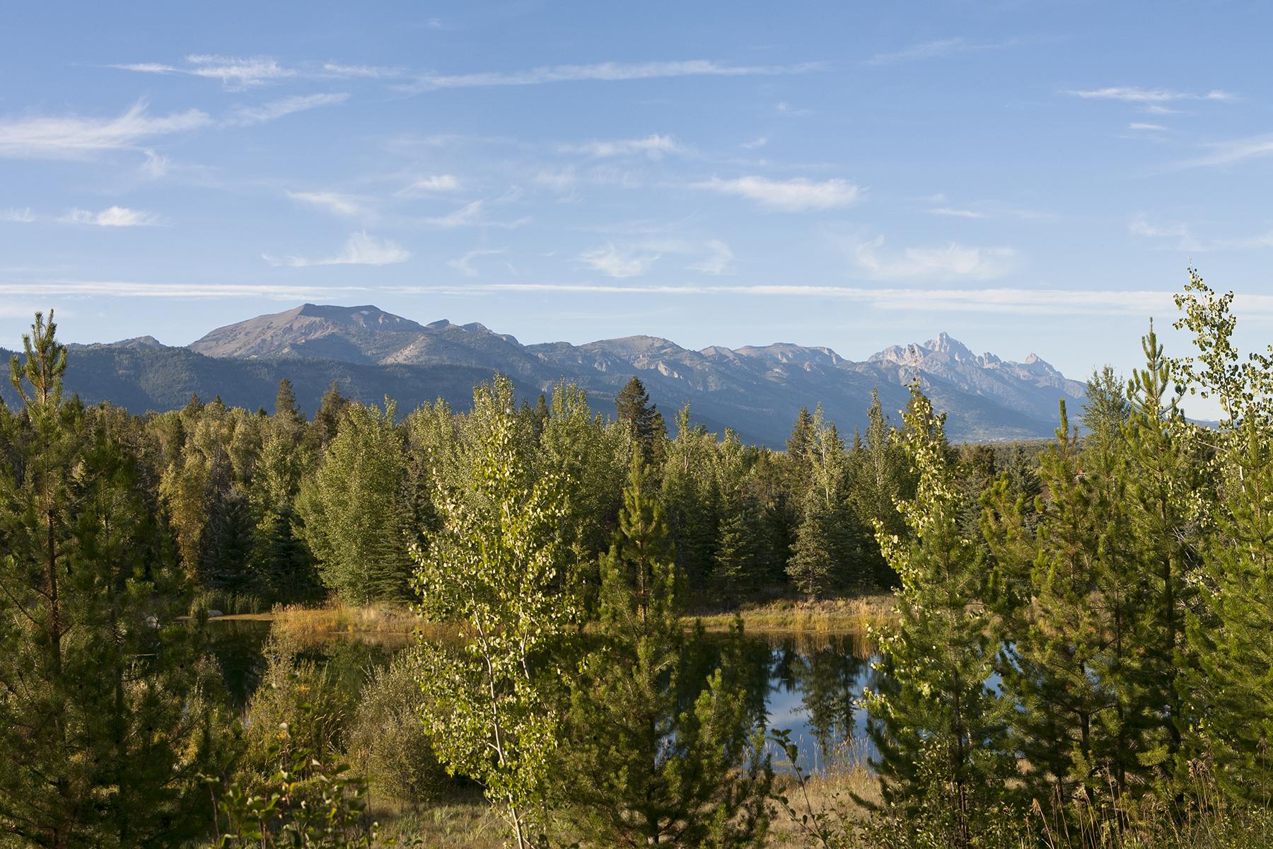 Terrain pour l Vente à Land with Splendid Views & Privacy 5135 W. Eagle Road Wilson, Wyoming, 83014 Jackson Hole, États-Unis