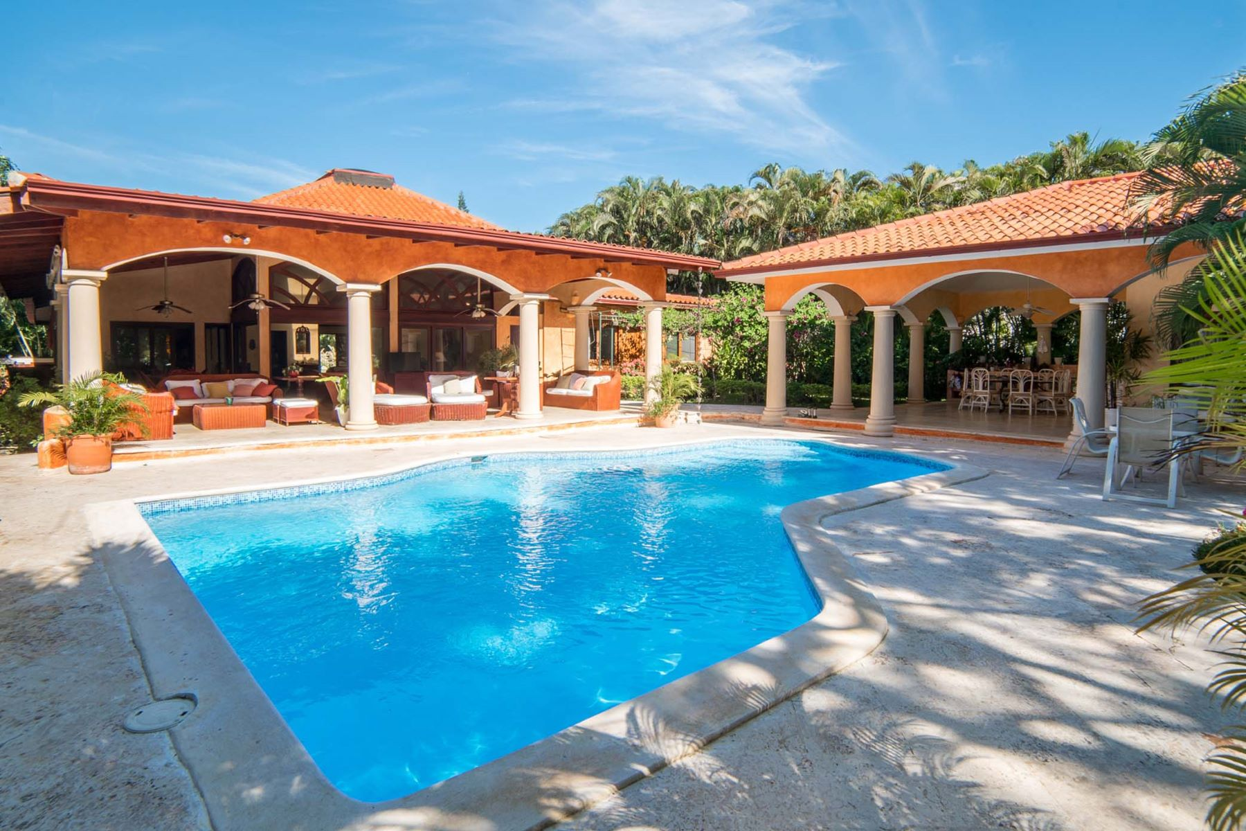 Single Family Home for Sale at One-level Mediterranean Inspired Villa Casa De Campo, La Romana Dominican Republic