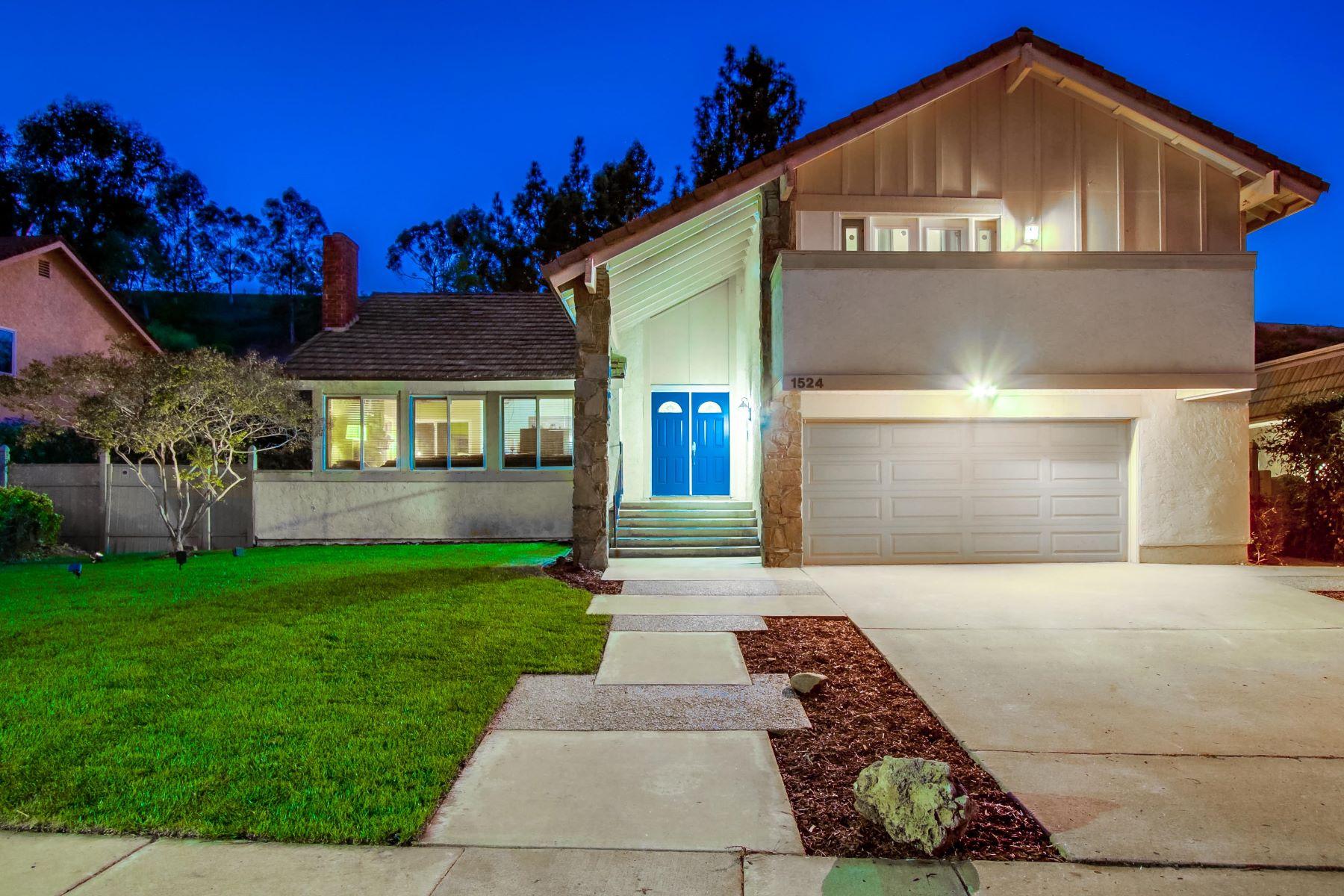 Single Family Homes for Sale at 1524 Whitsett Dr El Cajon, California 92020 United States