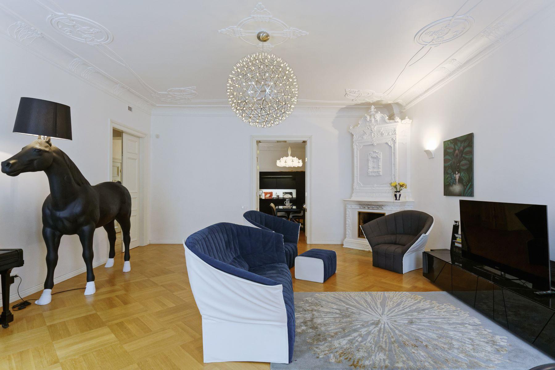 Appartement pour l à vendre à Sophisticated apartment at Alberta Street Riga, Autres Régions De Lettonie, Lettonie