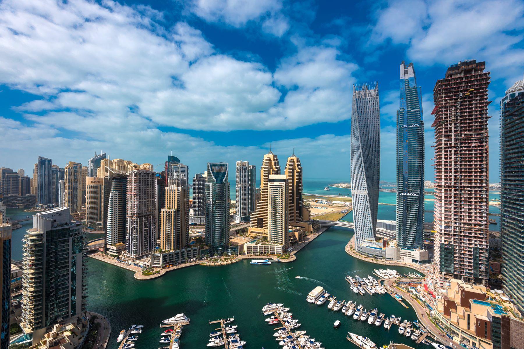 дуплекс для того Продажа на Emaar Original Six Dubai Marina, Dubai, Объединенные Арабские Эмираты
