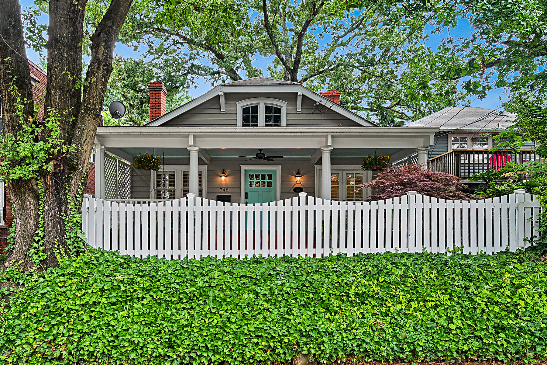 Single Family Home for Sale at Sweet Bungalow Just A Couple Blocks From Ponce City Market And Whole Foods 748 Barnett St Atlanta, Georgia 30306 United States