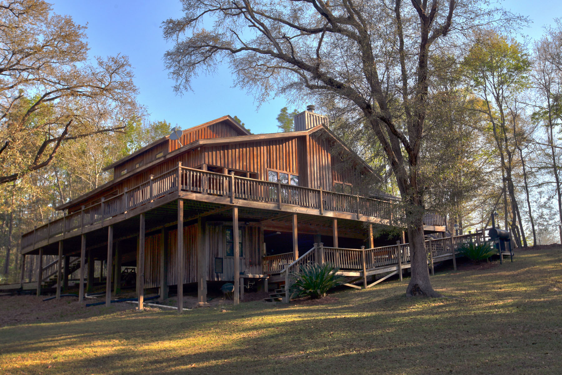 獨棟家庭住宅 為 出售 在 Creek Retreat in Baker County, GA 2454 Fish Camp Road Newton, 喬治亞州 39870 美國