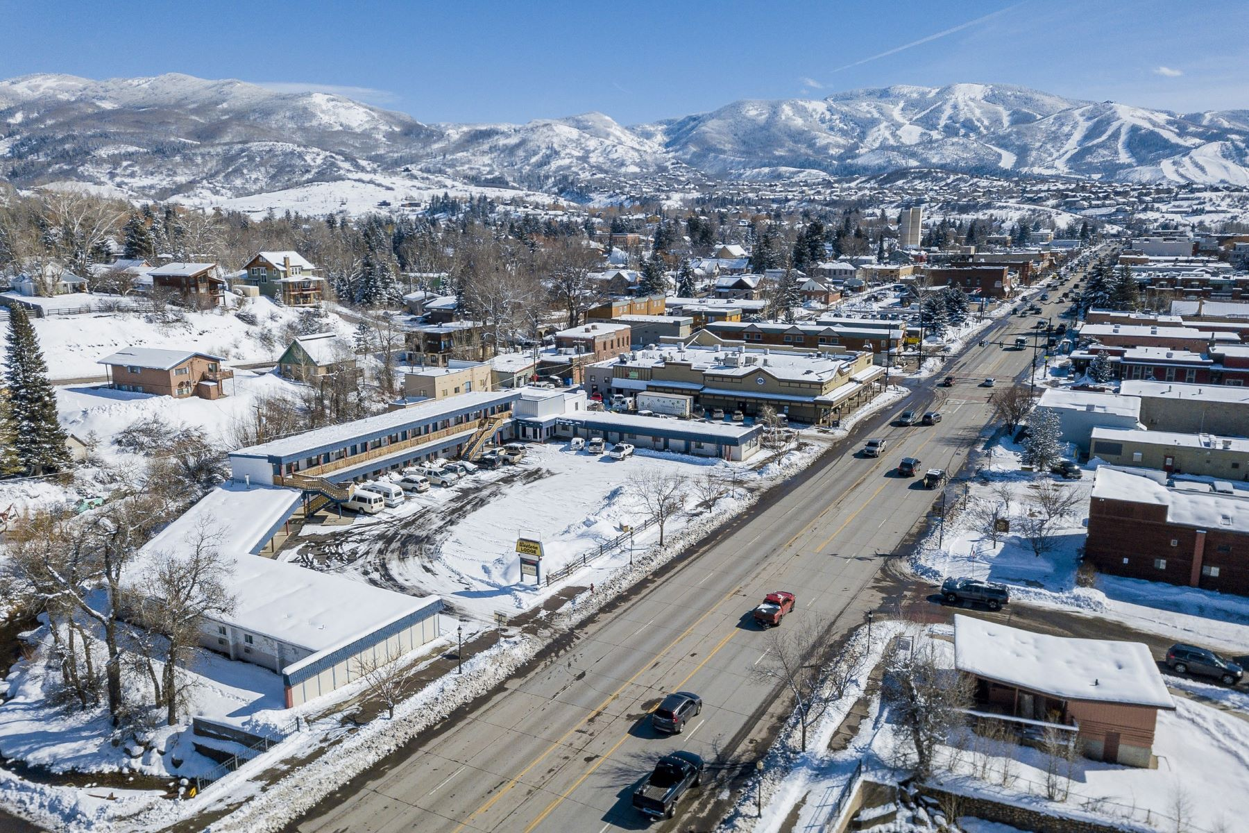 for Sale at Rare Development Opportunity- Western Lodge 1122 Lincoln Steamboat Springs, Colorado 80487 United States