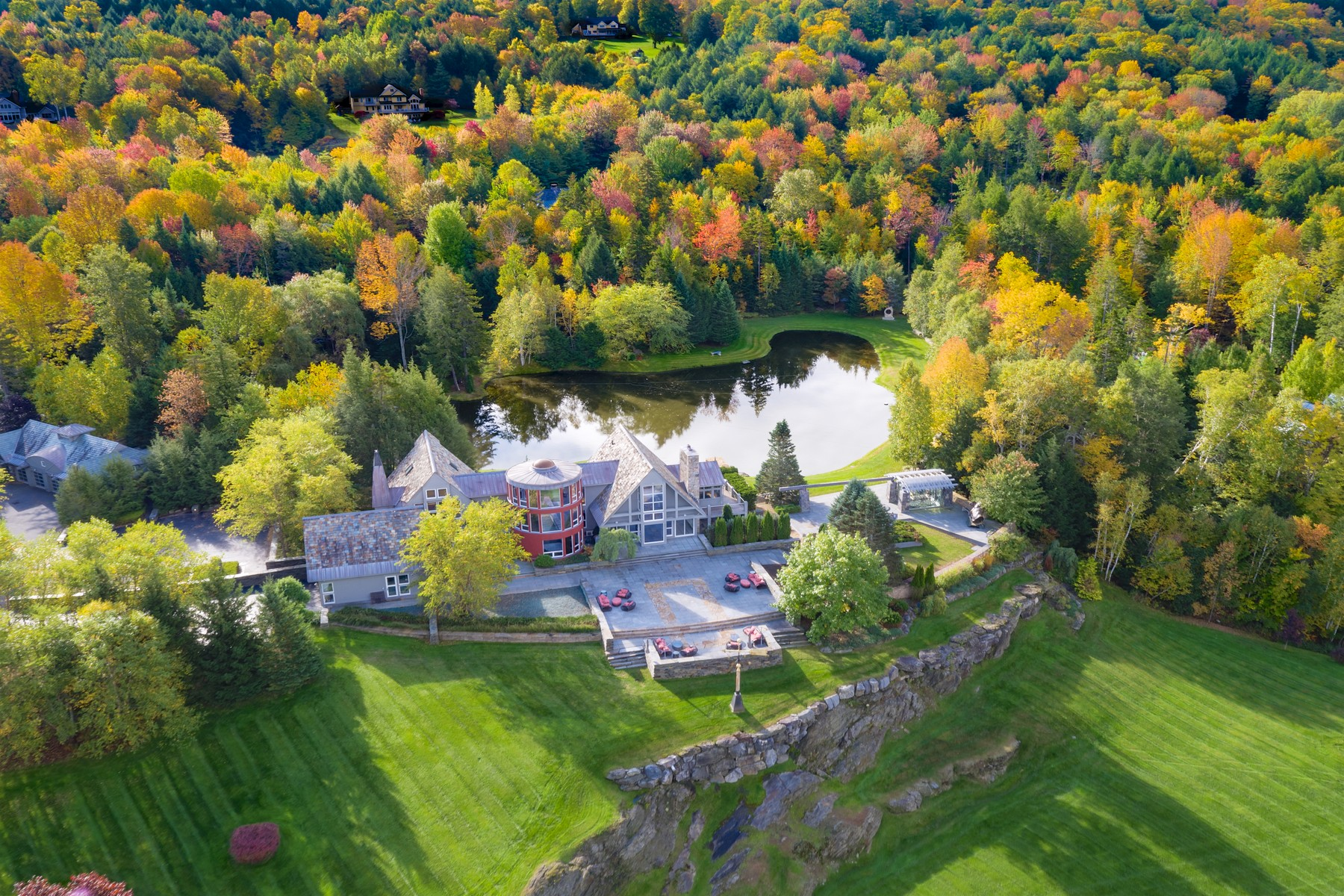 single family homes for Sale at Discerning Legacy Property 506 North Hill Rd 3A Stowe, Vermont 05672 United States