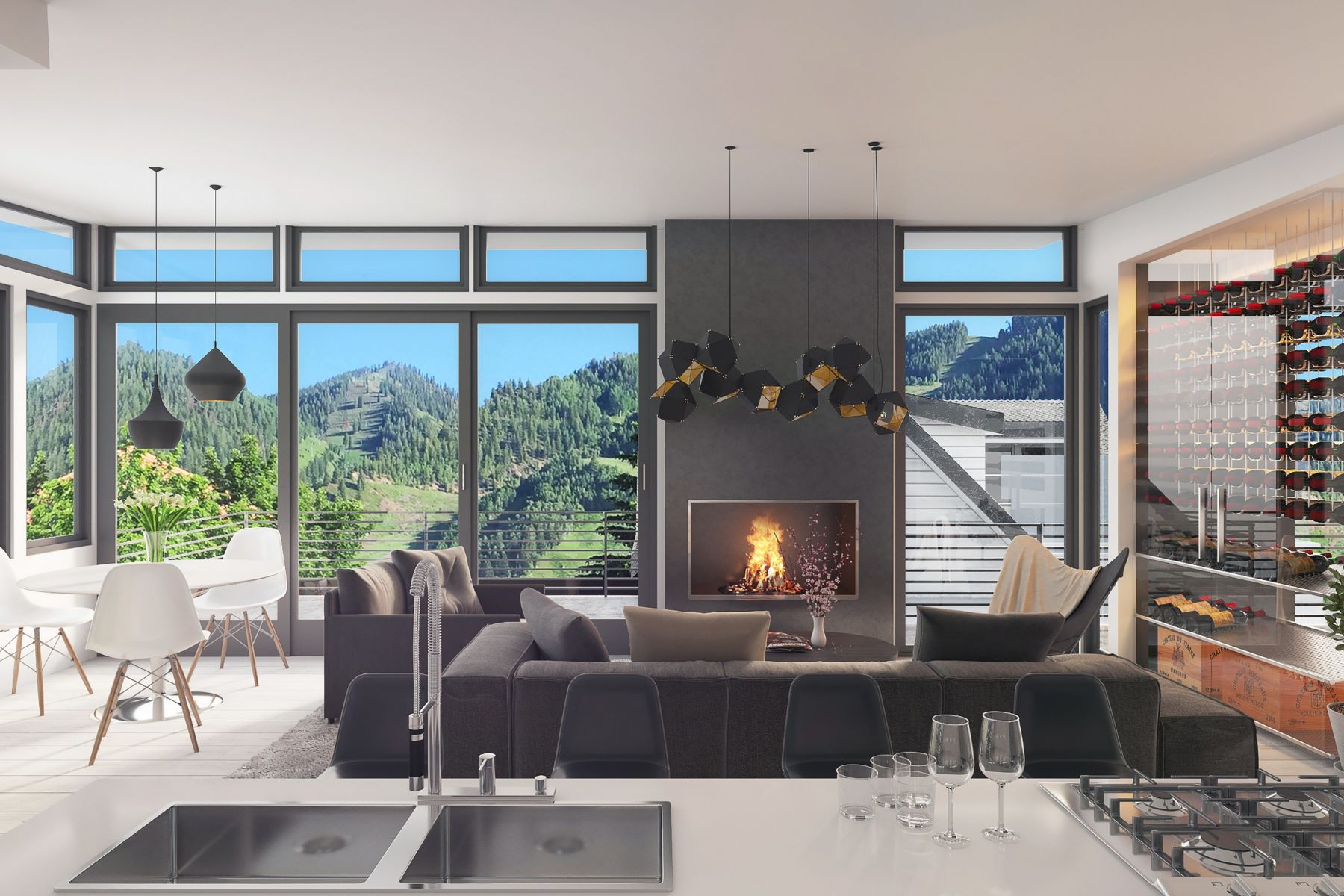 複式單位 為 出售 在 Modern West End Duplex 203 North Monarch Street West End, Aspen, 科羅拉多州, 81611 美國
