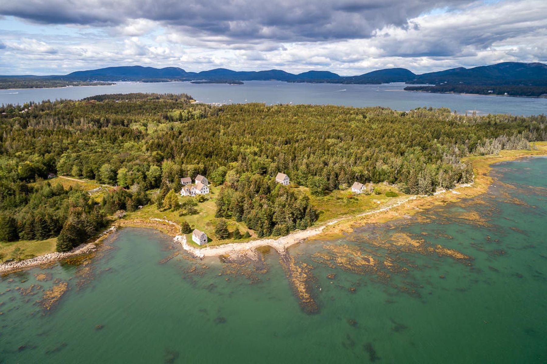 Single Family Homes for Active at 2 Heliker Road Cranberry Isles, Maine 04625 United States