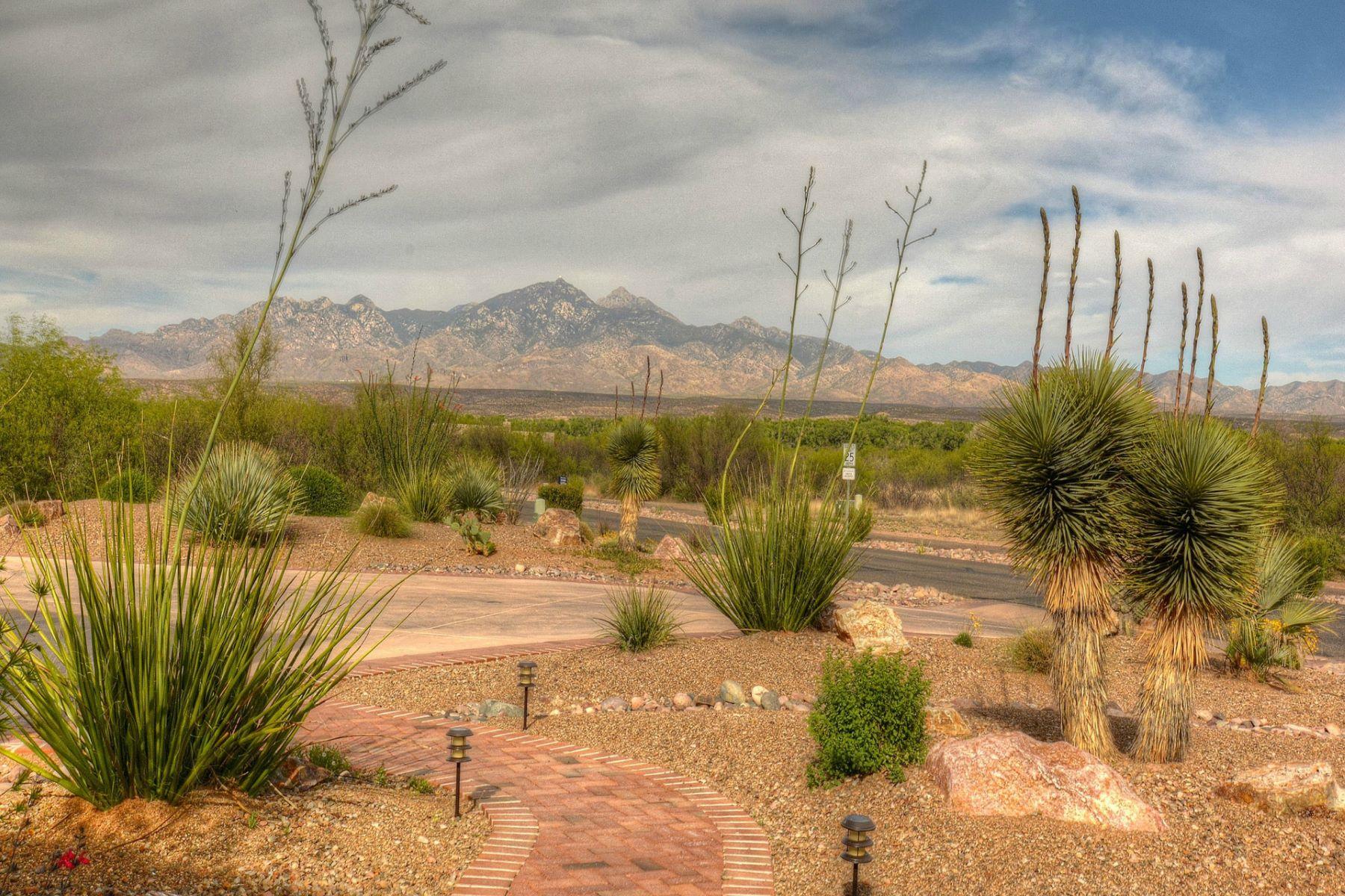 Single Family Homes por un Venta en Golf Resort Living 50 Burruel Street Tubac, Arizona 85646 Estados Unidos