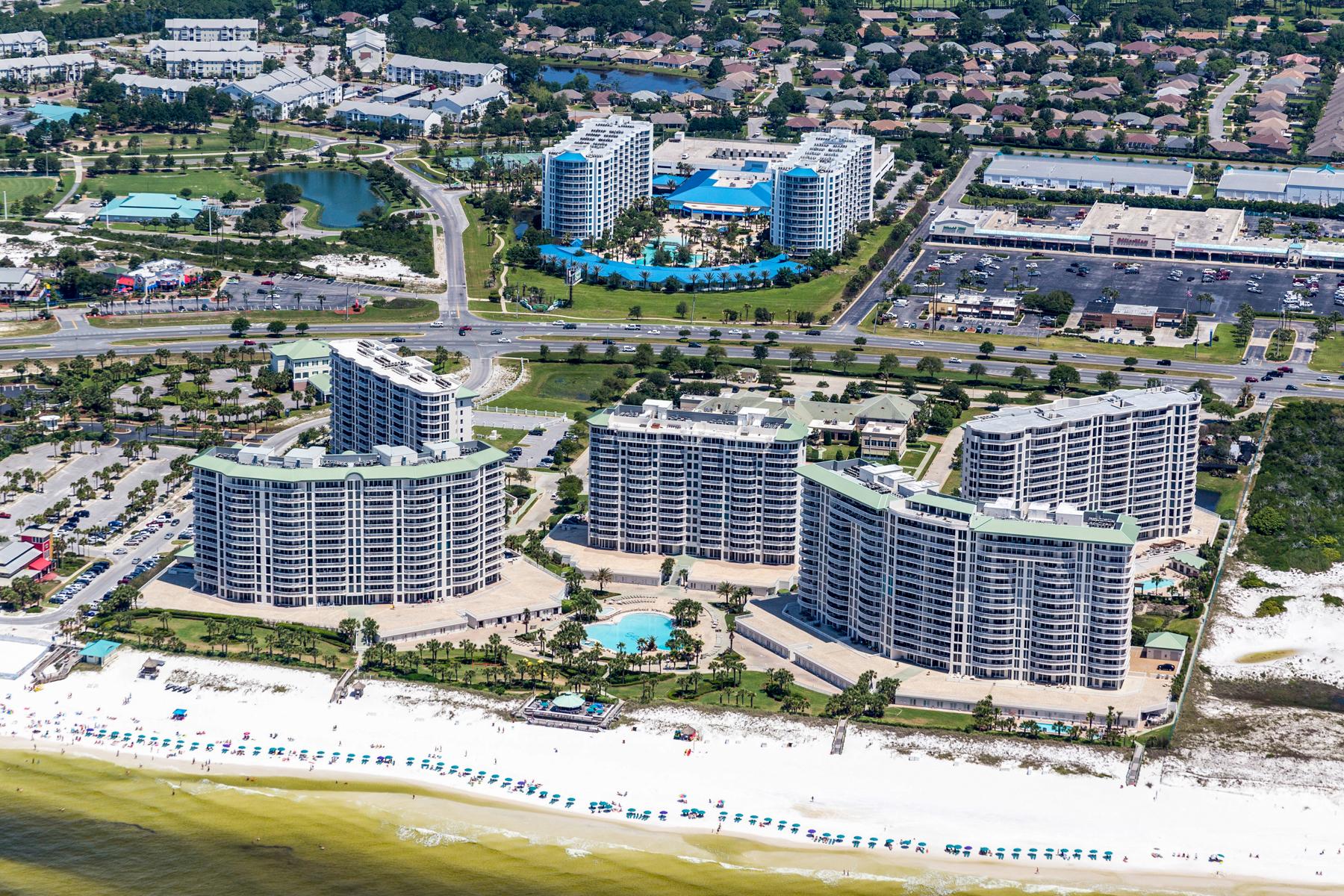 共管式独立产权公寓 为 销售 在 Panoramic Views of the Gulf of Mexico from Penthouse Condo 15100 Emerald Coast Parkway Unit PH5, 德斯坦, 佛罗里达州, 32541 美国