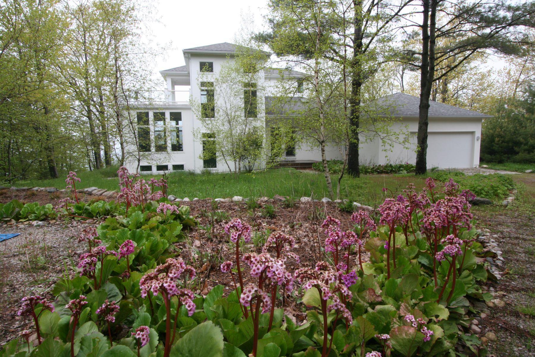 Single Family Homes for Sale at Harbor Springs, Michigan 3485 N. Lake Shore Drive Good Hart, Michigan 49737 United States