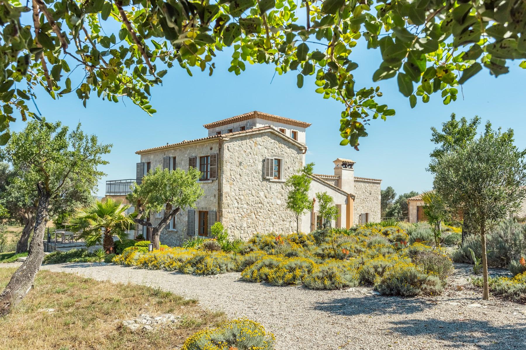 Einfamilienhaus für Verkauf beim Landhaus nahe der Bucht von Alcudia Santa Margalida, Mallorca Spanien