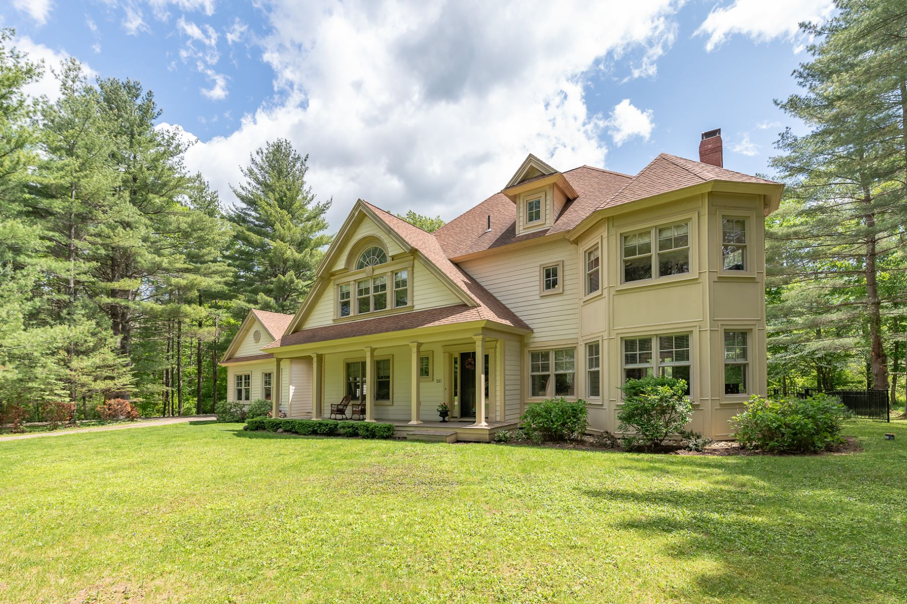 Single Family Homes for Sale at 2006 Contemporary Farmhouse 150 Lefevre Way Manchester, Vermont 05255 United States