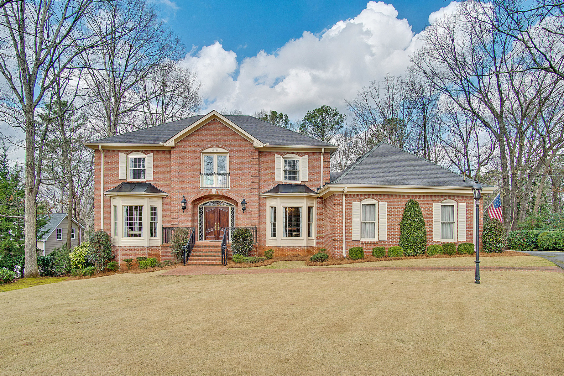 Single Family Home for Sale at Huntcliff Home On Over An Acre 8905 Huntcliff Trace Sandy Springs, Georgia 30350 United States