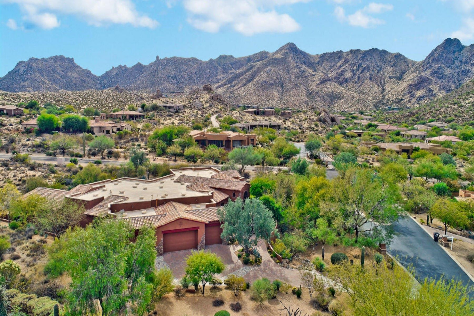 Single Family Home for Sale at Opulent estate in gated Sonoran Crest 24231 N 120TH PL, Scottsdale, Arizona, 85255 United States