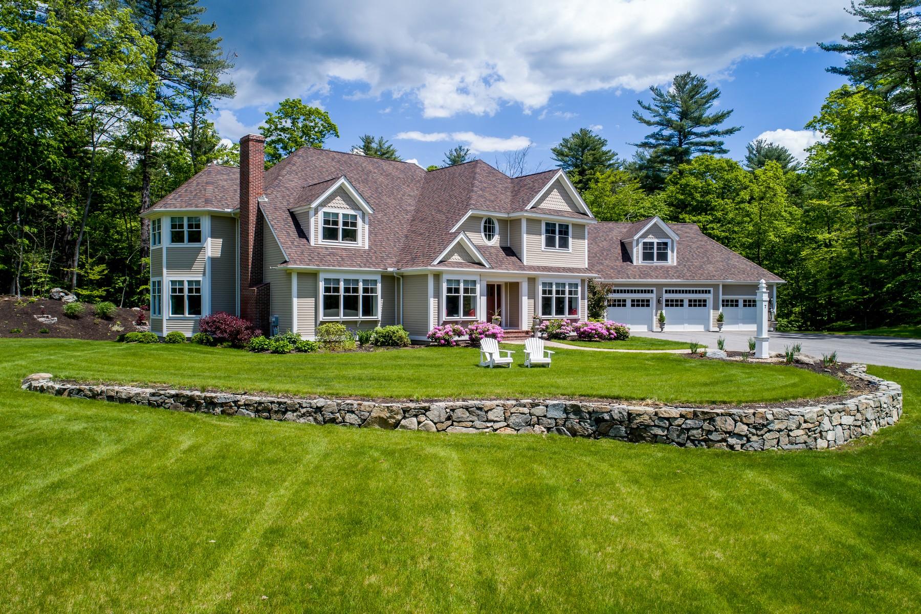 Eensgezinswoning voor Verkoop een t Modern Living in Country Setting 7 Sagamore Lane Boxford, Massachusetts 01921 Verenigde Staten