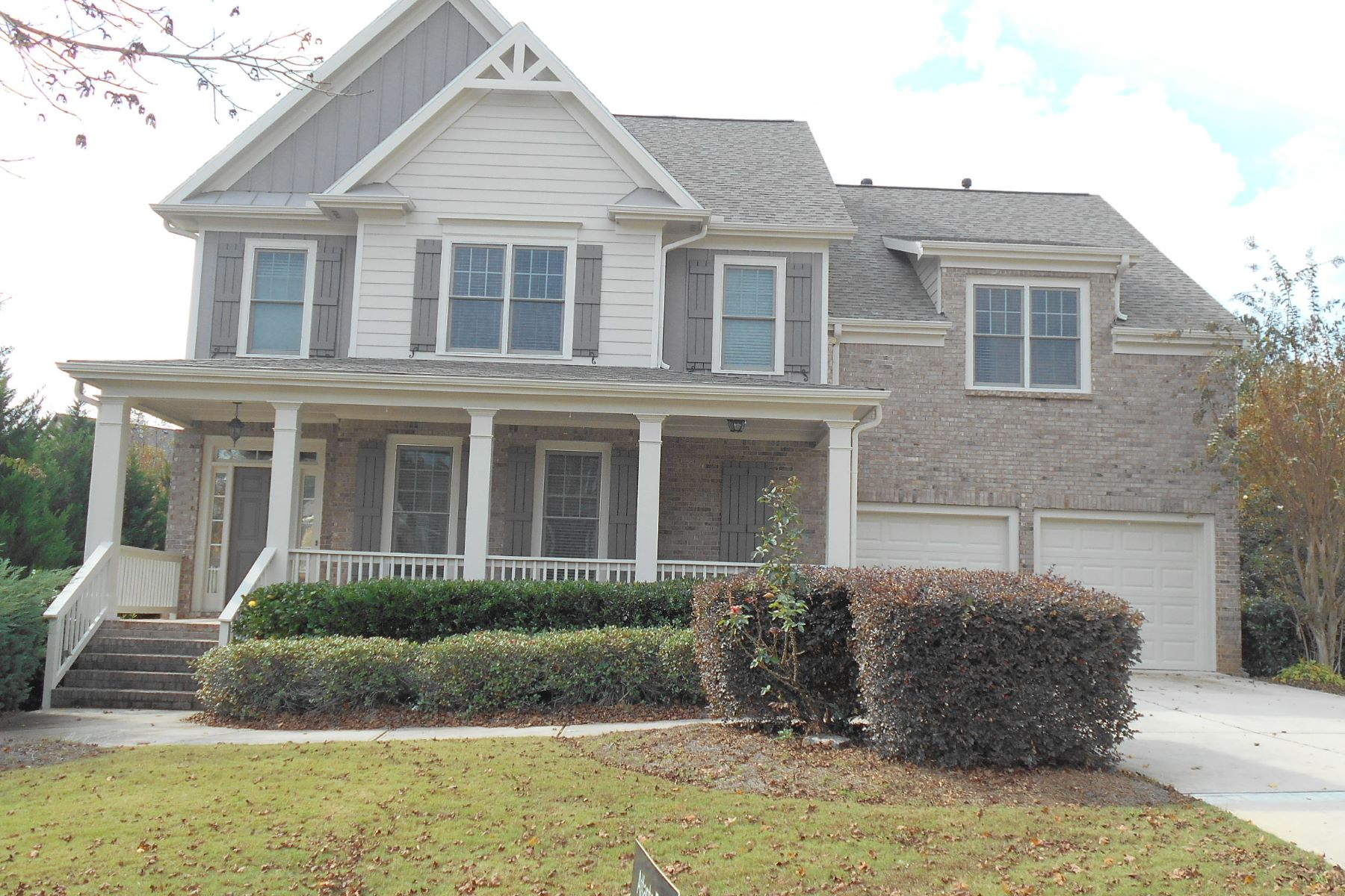 Outstanding Floor Plan 7634 Tenspeed Court Flowery Branch, Georgia 30542 United States
