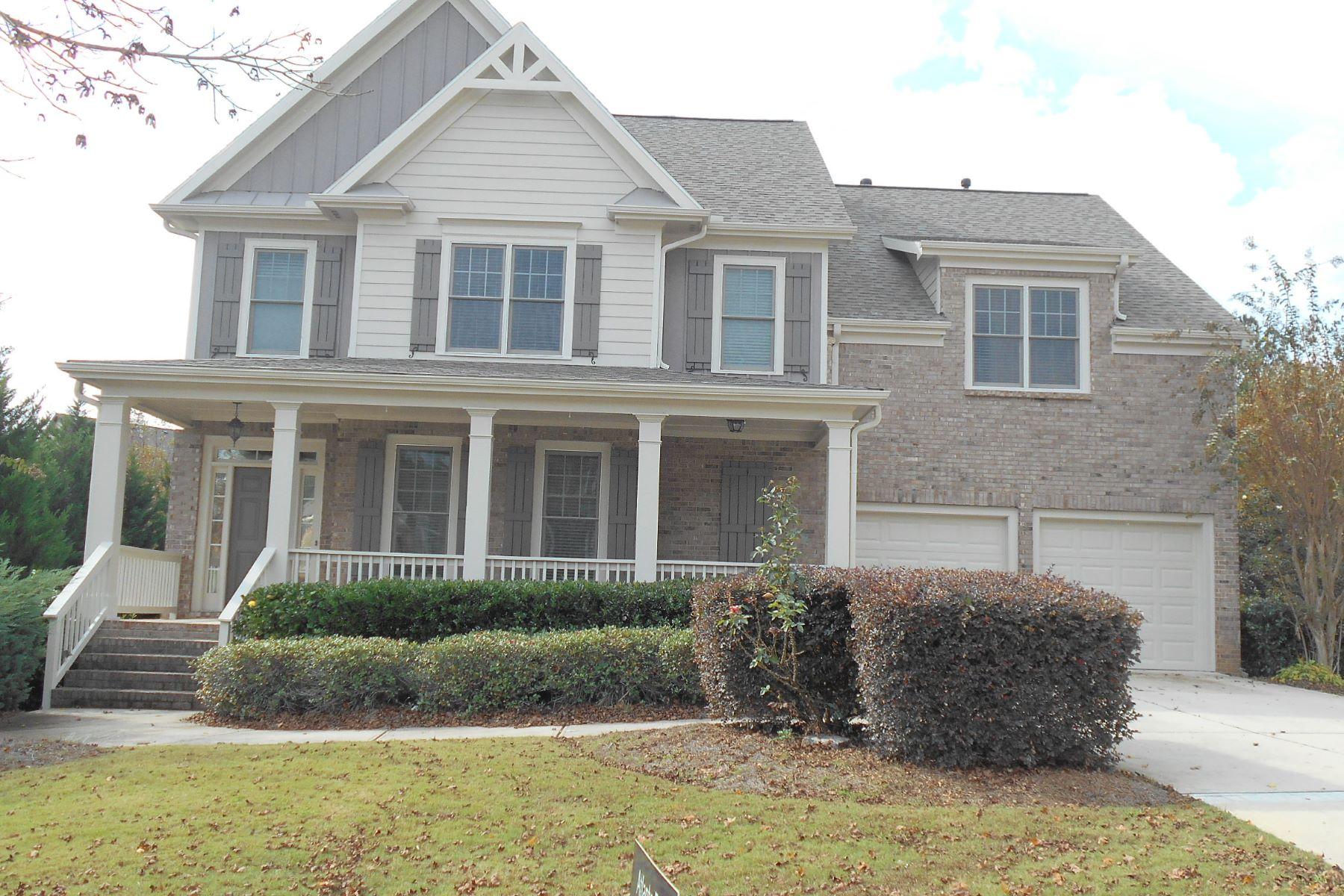 Частный односемейный дом для того Аренда на Outstanding Floor Plan 7634 Tenspeed Court Flowery Branch, Джорджия 30542 Соединенные Штаты