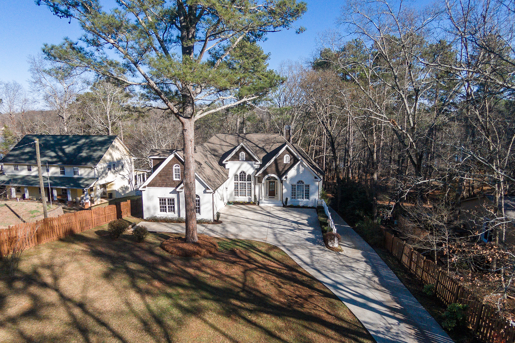 Single Family Homes for Sale at Newly Renovated Home On Deep Water on Lake Lanier 7844 Floyd Lane Gainesville, Georgia 30506 United States