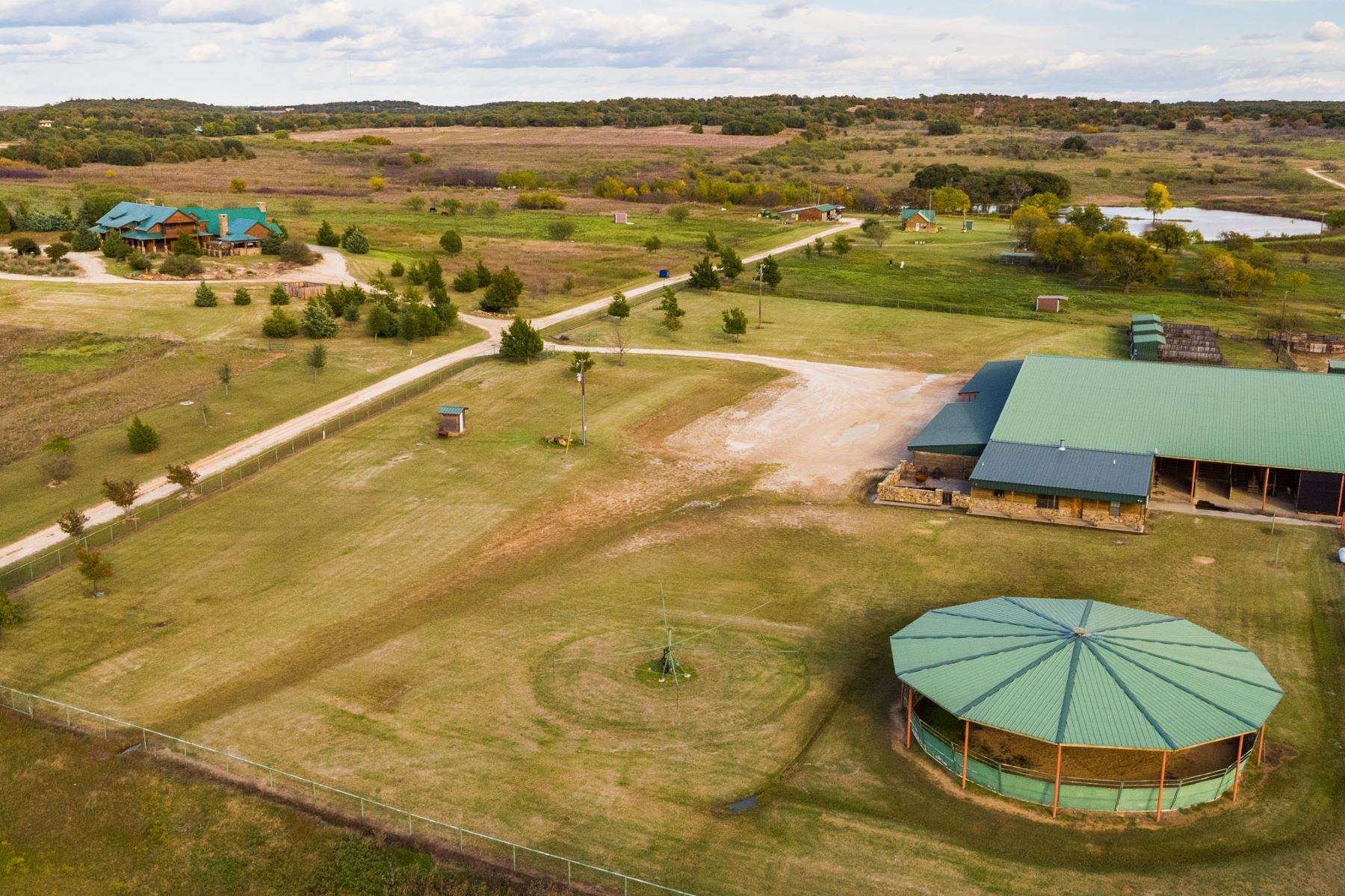 Farm / Ranch / Plantation for Active at Crockett Ranch 458 Acres 5578 FM 1816 Bowie, Texas 76230 United States