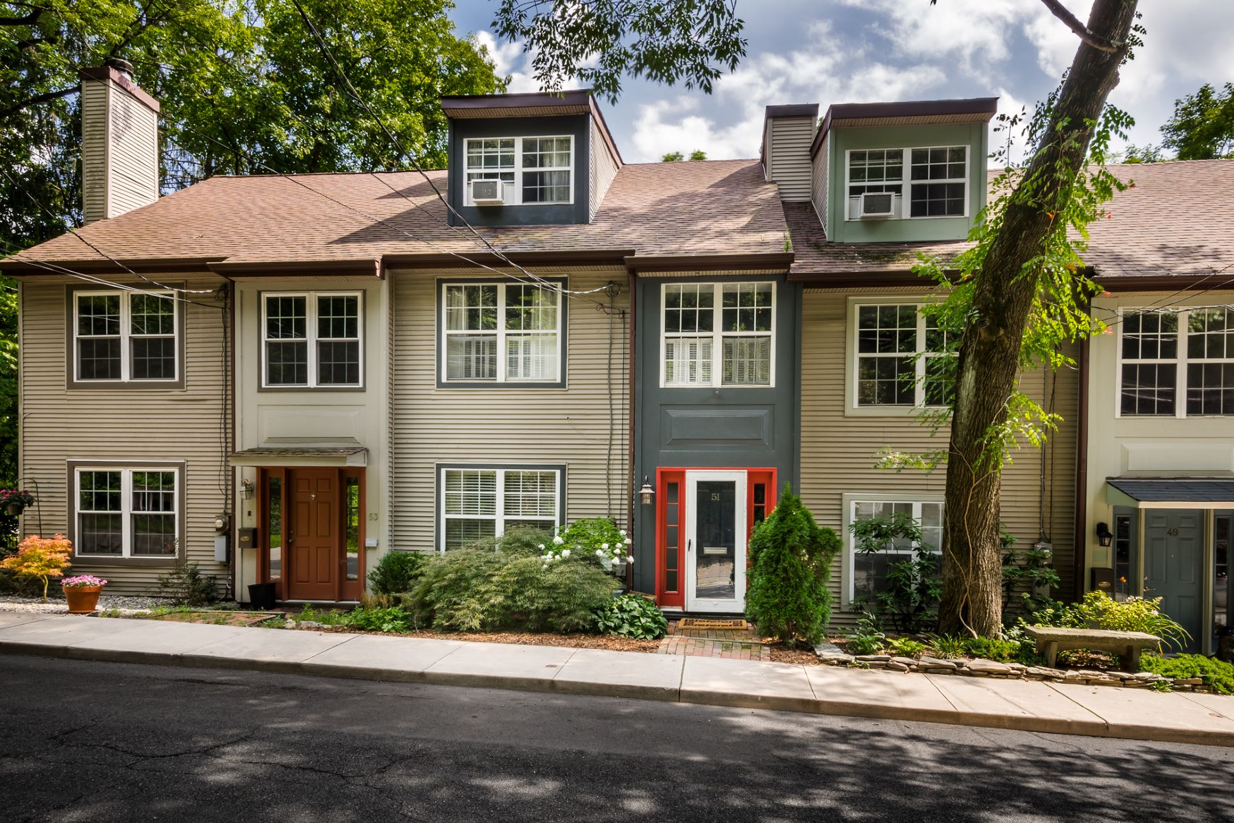 Townhouse for Sale at Townhome Living Minus The Association Fees 51 Quarry Street Lambertville, New Jersey, 08530 United StatesIn/Around: Lambertville
