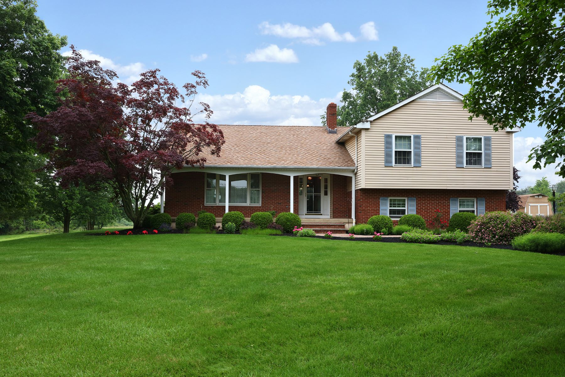 Single Family Home for Sale at A Classic In An Idyllic Setting - East Amwell Township 56 Saddle Shop Road Ringoes, New Jersey 08551 United States