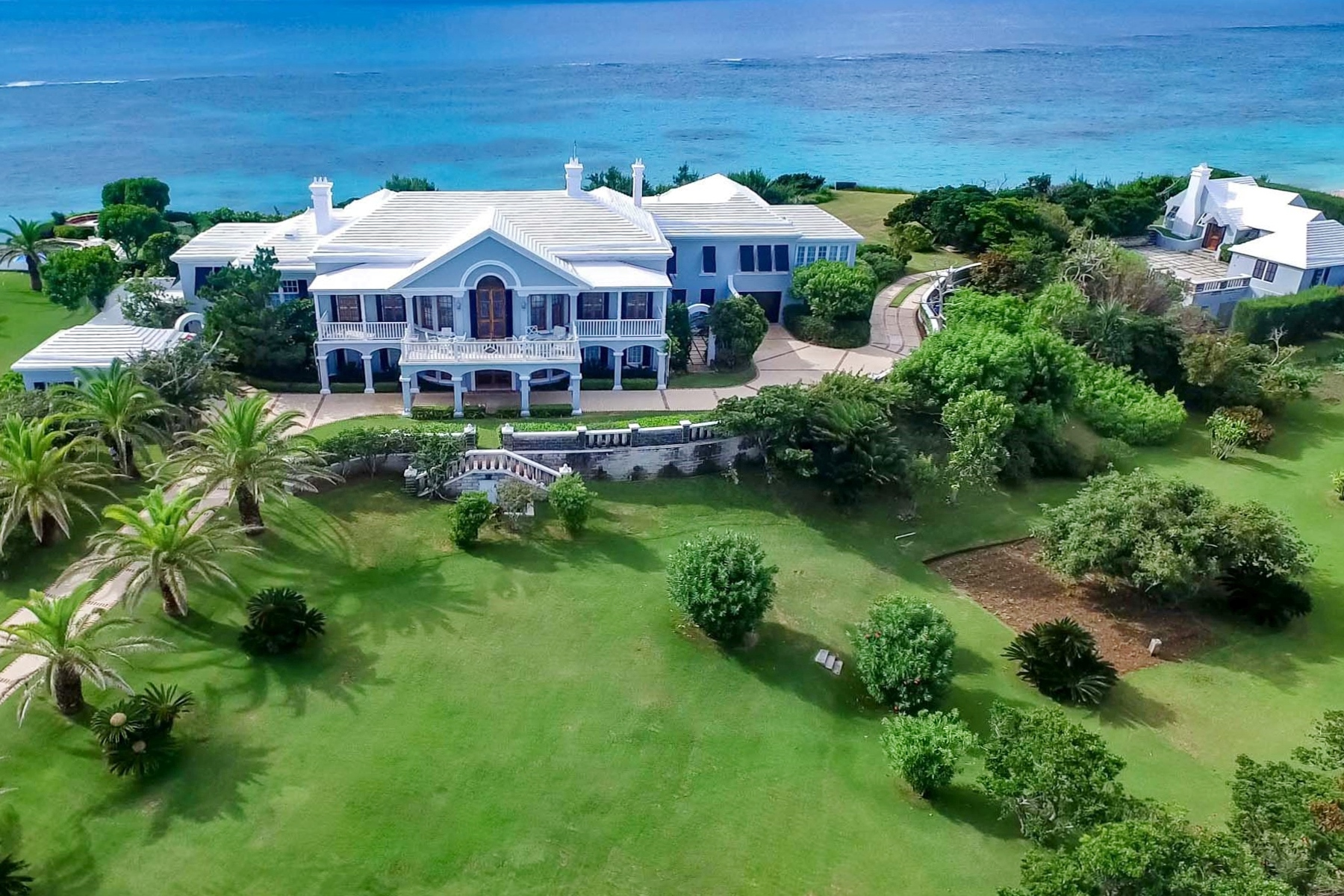 Single Family Home for Sale at Old Battery 4 South Road Hamilton Parish, Other Areas In Bermuda CR01 Bermuda