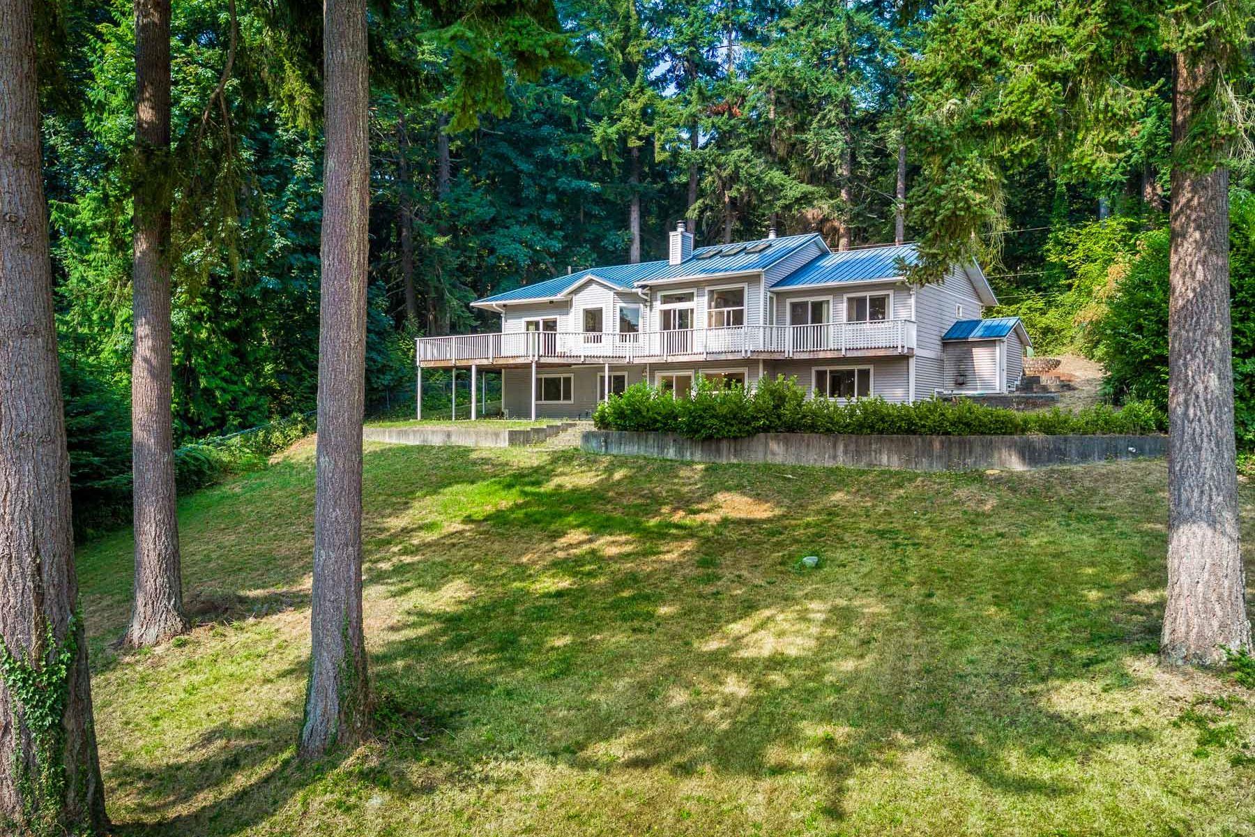 واحد منزل الأسرة للـ Sale في Island Living Above Point White 3546 Gangemarken Lane NE Bainbridge Island, Washington, 98110 United States