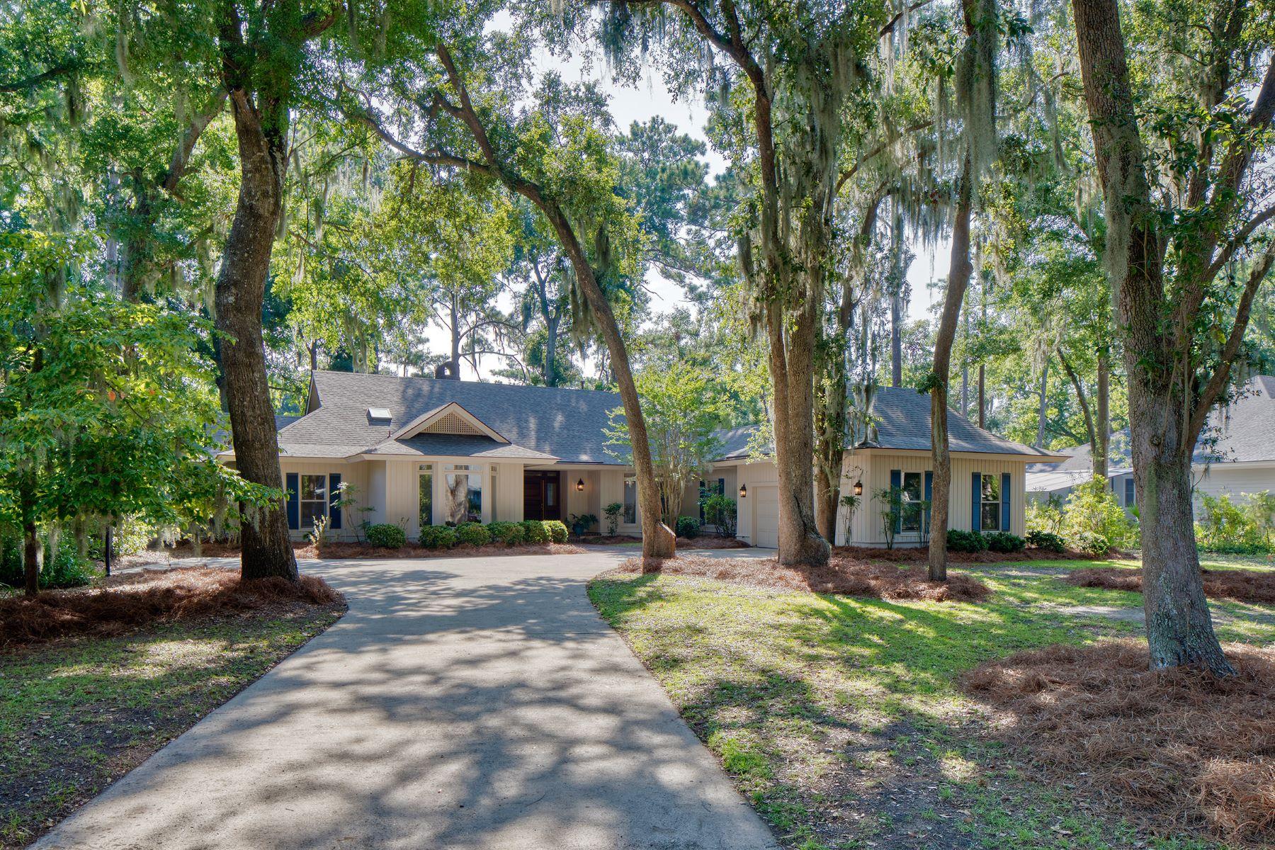 Single Family Homes для того Продажа на Skidaway Island, Джорджия 31411 Соединенные Штаты