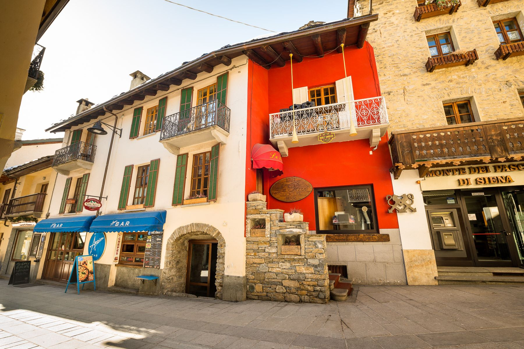 for Sale at Entire building in the heart of Courmayeur Via Roma Courmayeur, Aosta 11013 Italy