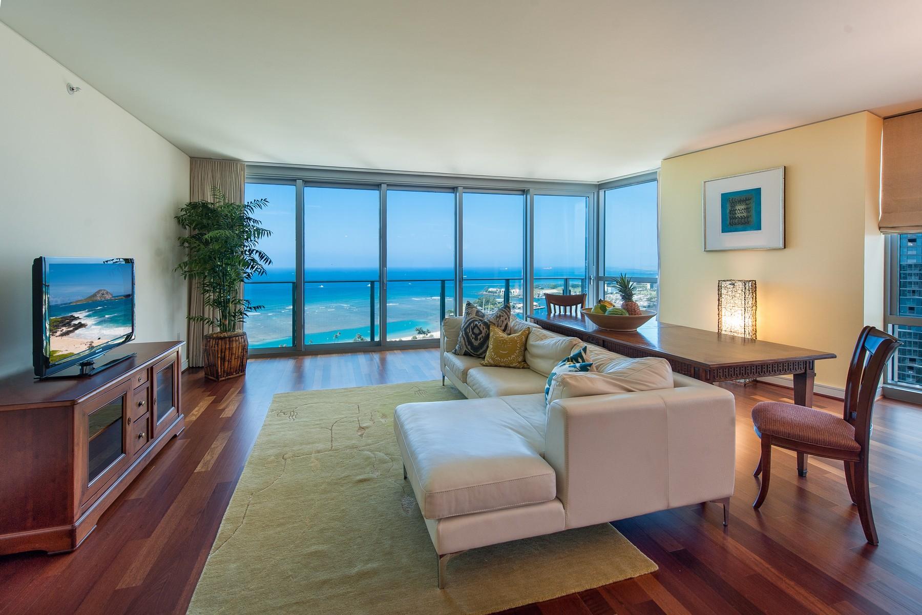 Condominium for Sale at Stunning Ocean Views 1288 Ala Moana Blvd. #29A Honolulu, Hawaii 96814 United States