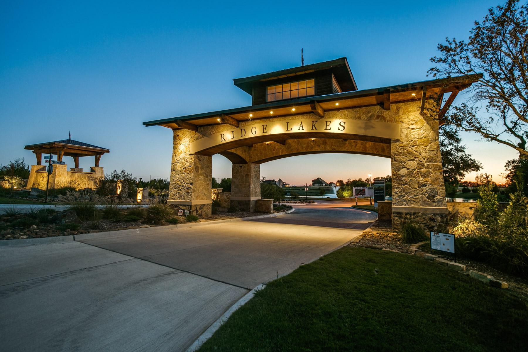 Land for Active at Half Acre Lot in Ridge Lakes of Heath 605 Rustic Ridge Drive Heath, Texas 75032 United States
