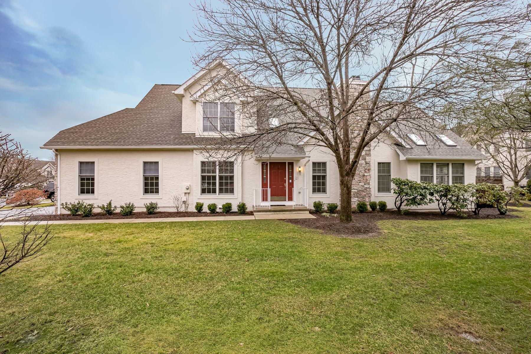 townhouses для того Продажа на Turn-key Townhouse 1 Richmond Drive, Basking Ridge, Нью-Джерси 07920 Соединенные Штаты