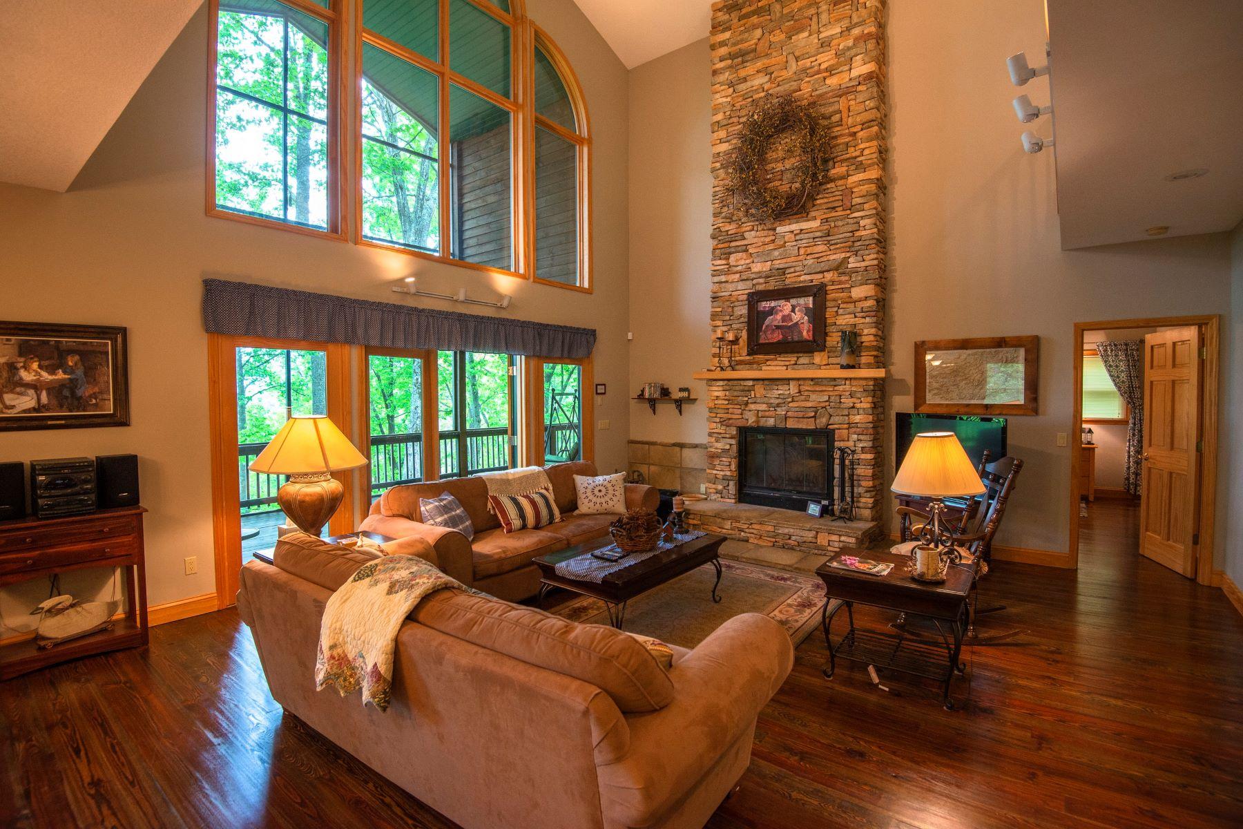 Enfamiljshus för Försäljning vid Hurrah @ Highland Gap 382 Hurrah Ridge Scaly Mountain, North Carolina 28775 Usa