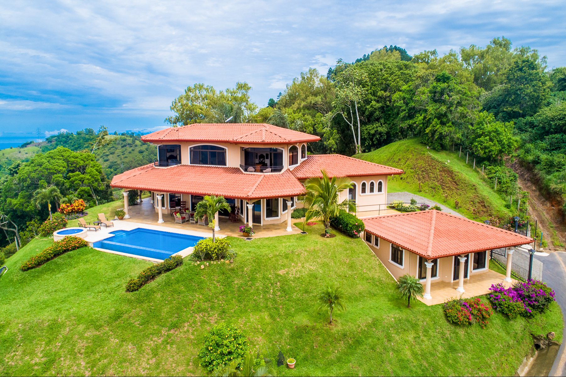 Single Family Homes por un Venta en Majestic Tranquil Mountain Top Atenas, Alajuela Costa Rica