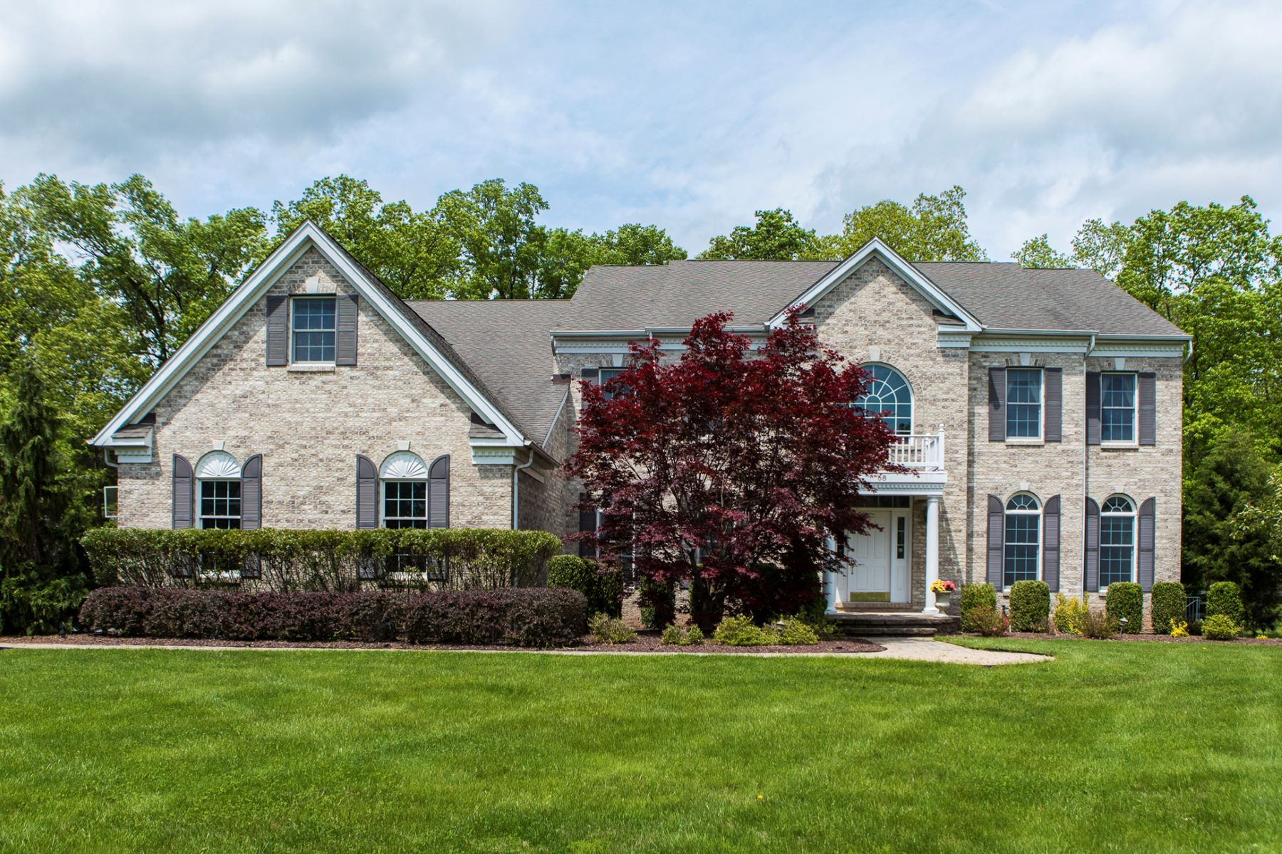 Single Family Homes for Sale at Room For Everyone With Five En Suite Bedrooms 68 Fox Chase Lane Belle Mead, New Jersey 08502 United States