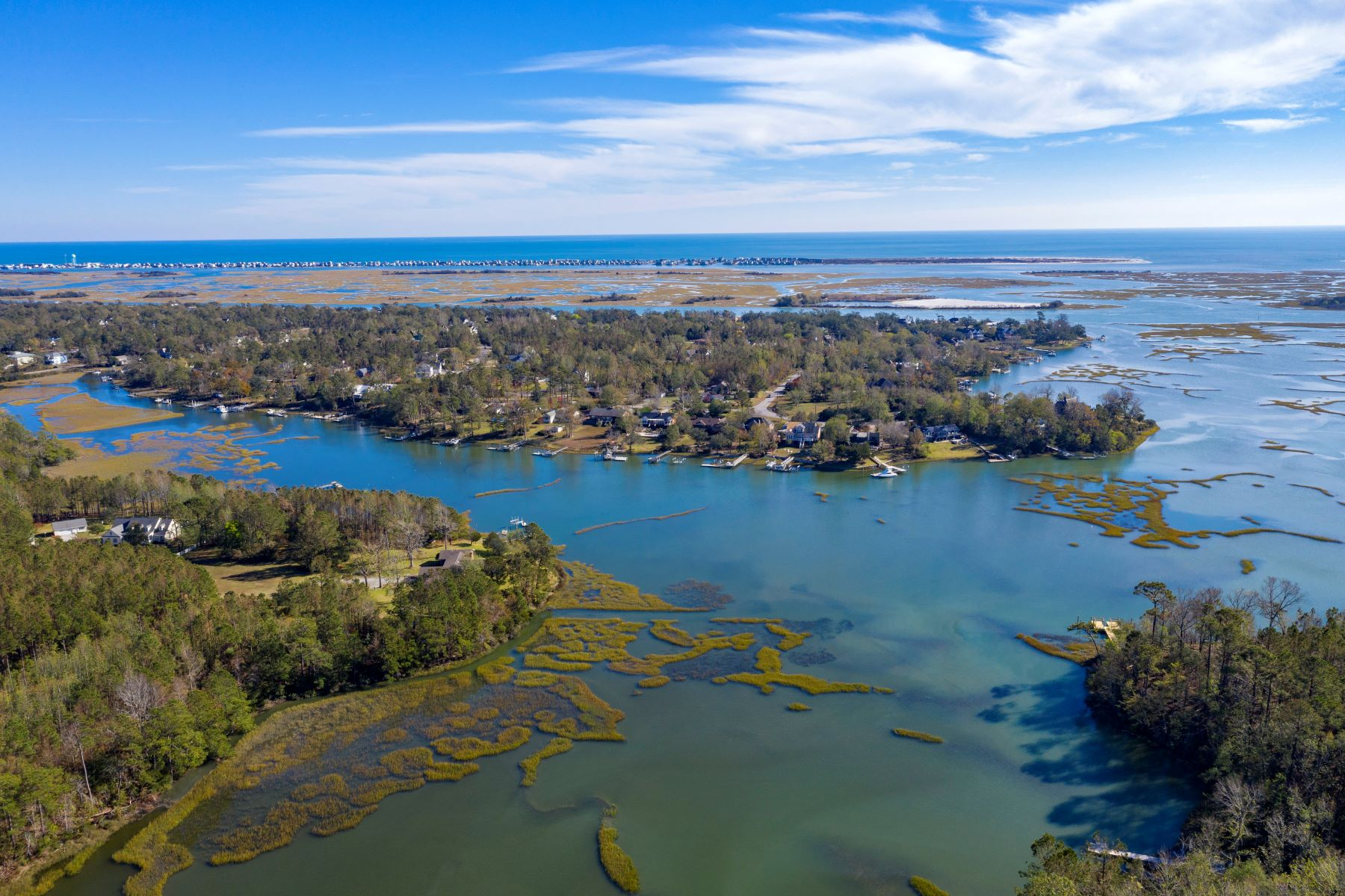 Land for Active at Majestic Waterfront Acreage for Planned Development 160 Spring Garden Road Hampstead, North Carolina 28443 United States