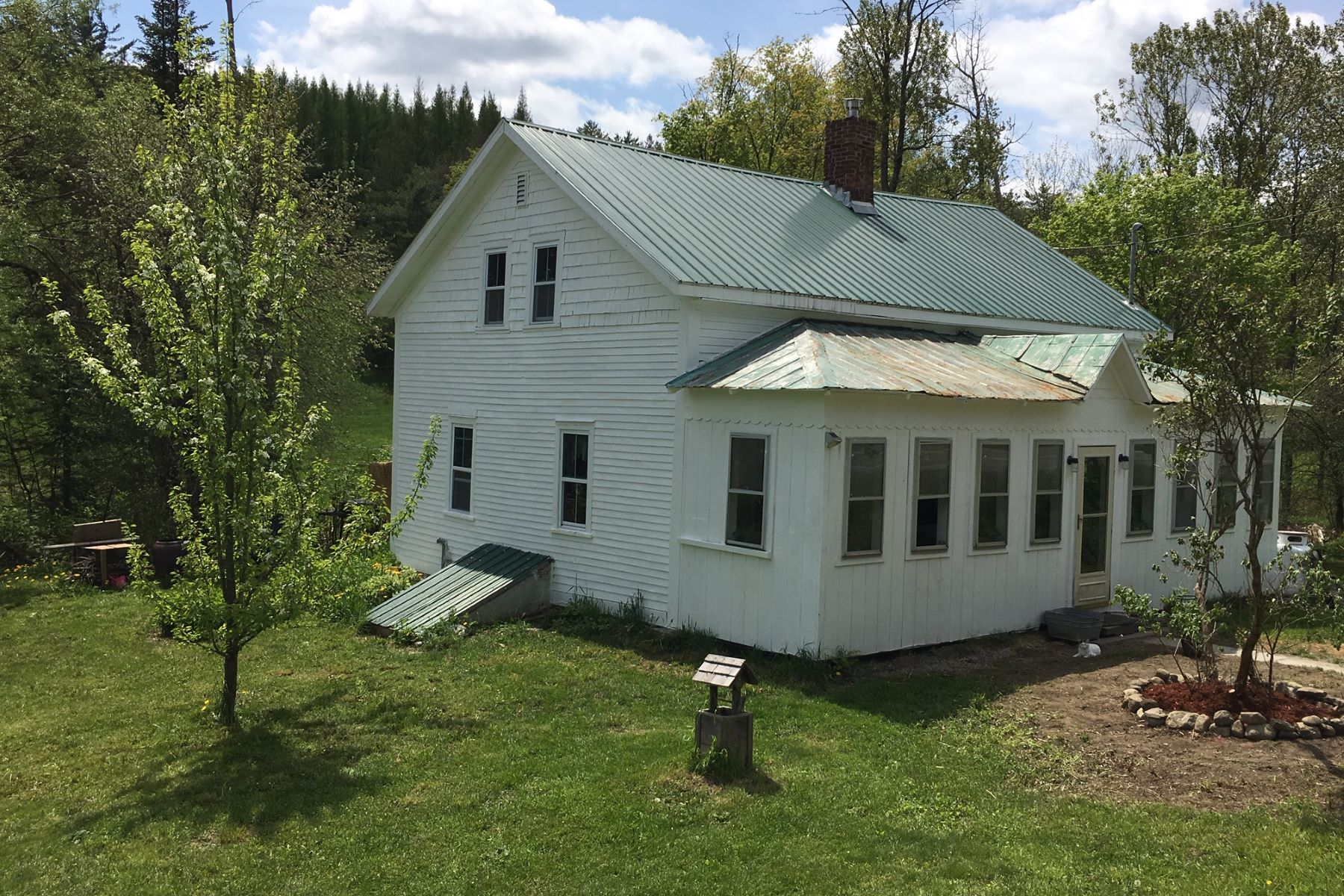 single family homes for Sale at Two Bedroom Cape on the River in Vershire 6555 Vt Route 113 Vershire, Vermont 05079 United States