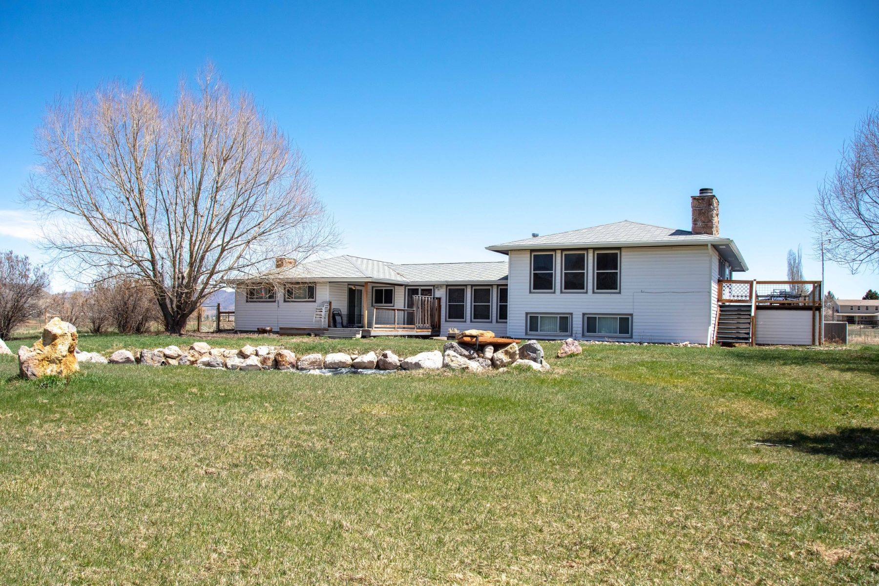Single Family Homes for Sale at Large Rural Home With Acreage In Meeker 100 Mesa Drive Meeker, Colorado 81641 United States
