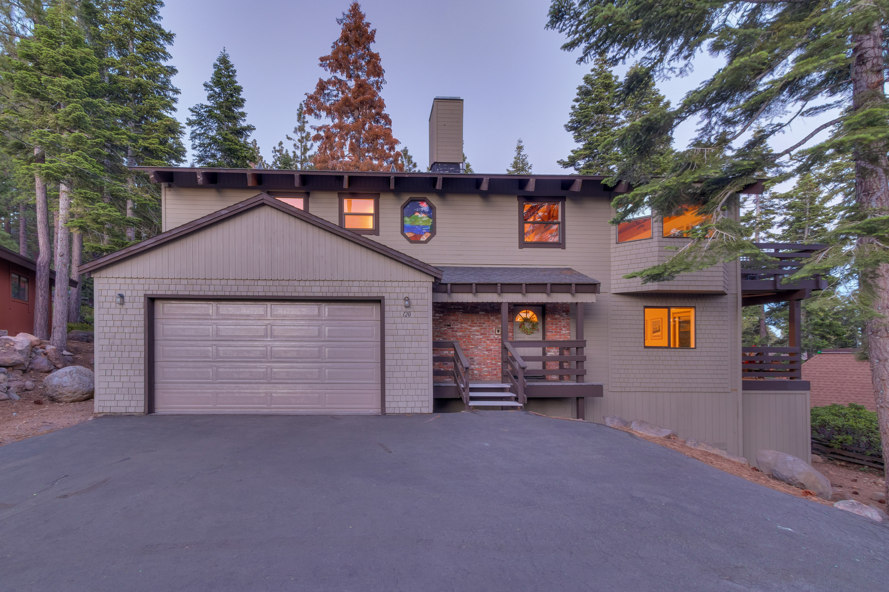 Single Family Home for Active at 120 Lakewood Lane, Tahoe City, CA Tahoe City, California 96145 United States