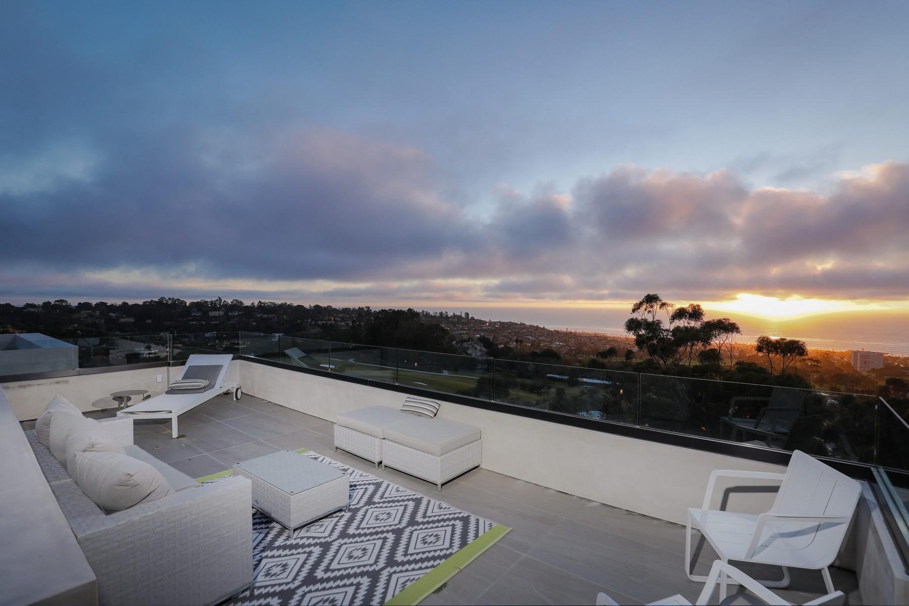 Single Family Home for Sale at New Ocean-View Contemporary 7160 Encelia Drive La Jolla, California, 92037 United States