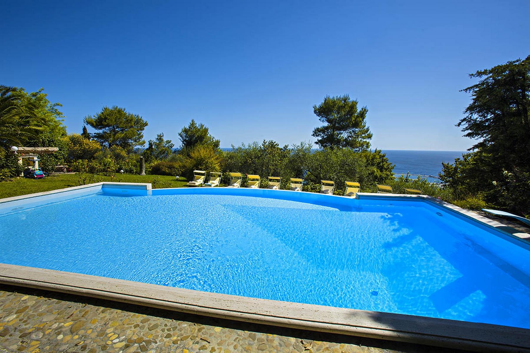 Villa per Vendita alle ore Villa moderna con piscina e vista mozzafiato sul Mar Adriatico Pesaro, Pesaro Urbino Italia