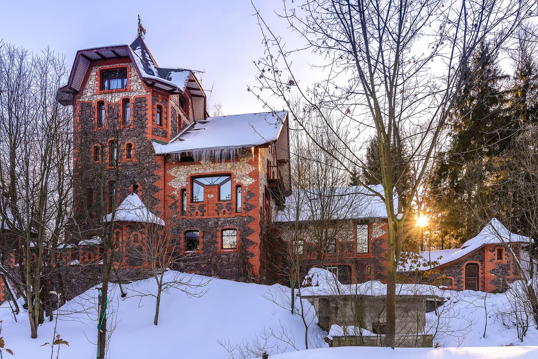 Single Family Home for Sale at Castle- House in New Moscow Moscow, Moscow City, Russia