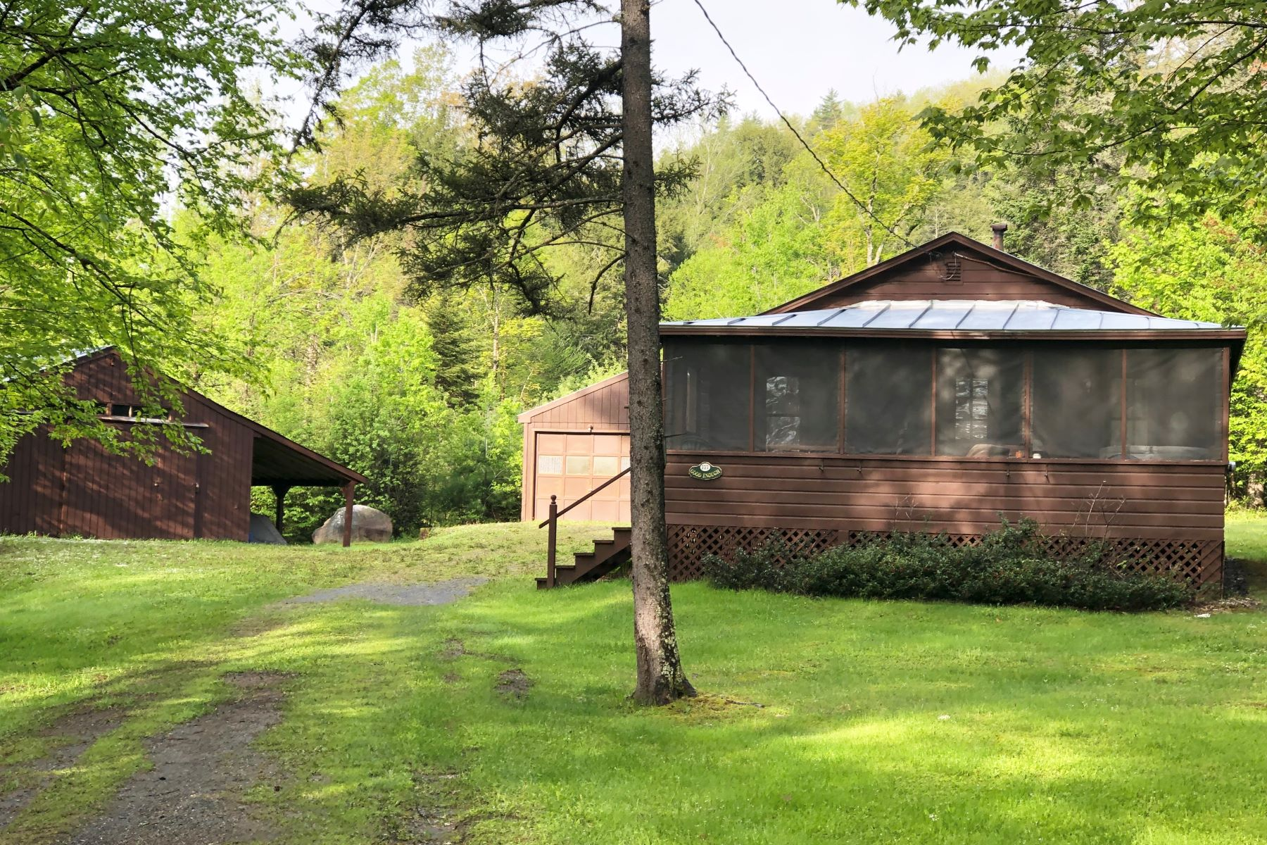 Single Family Homes for Sale at 777 Tenney Pond Road, Newbury 777 Tenney Pond Rd Newbury, Vermont 05051 United States